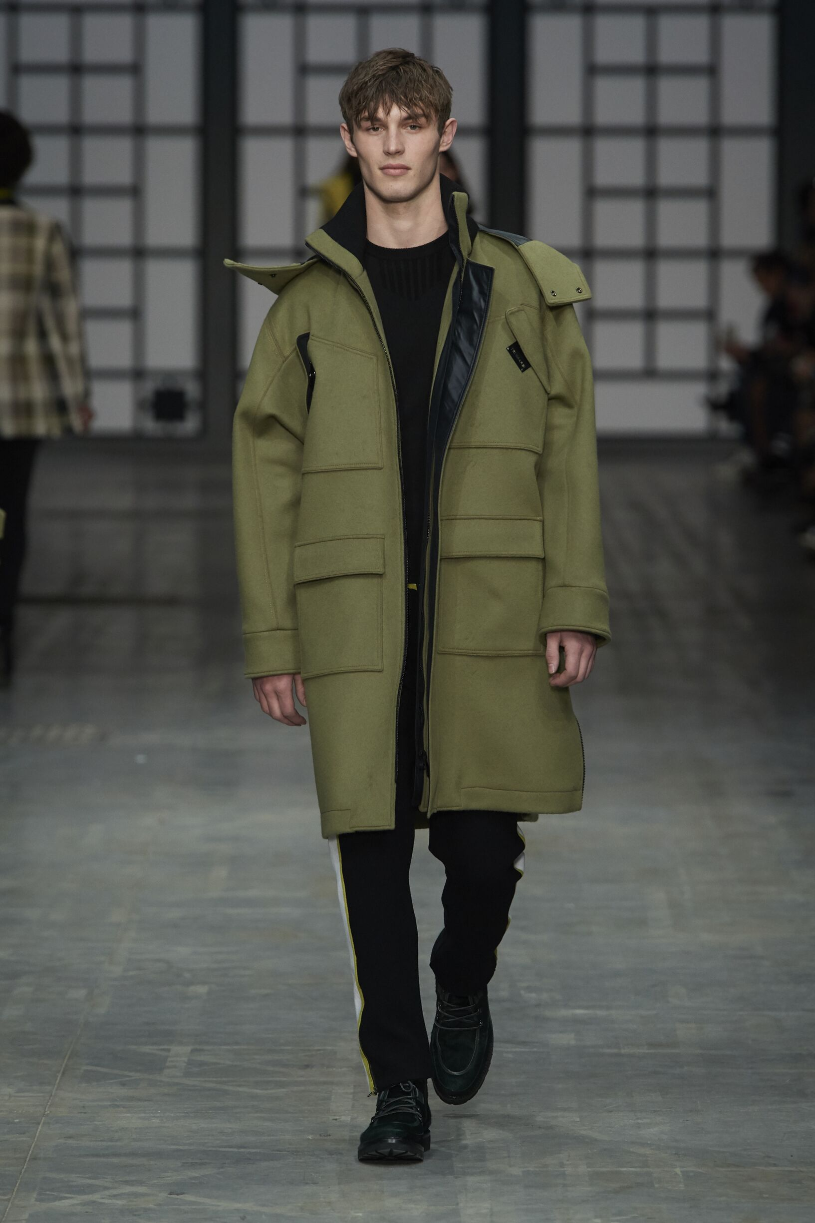 Man FW 2018-19 Fashion Show Trussardi