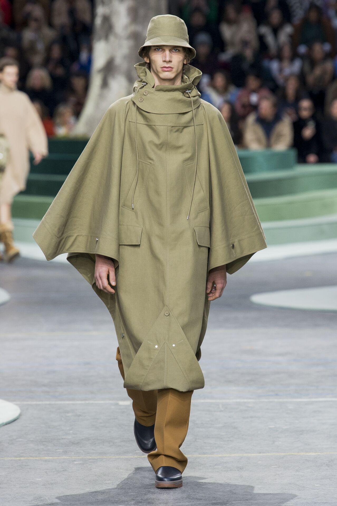 Man Model Fashion Show Lacoste