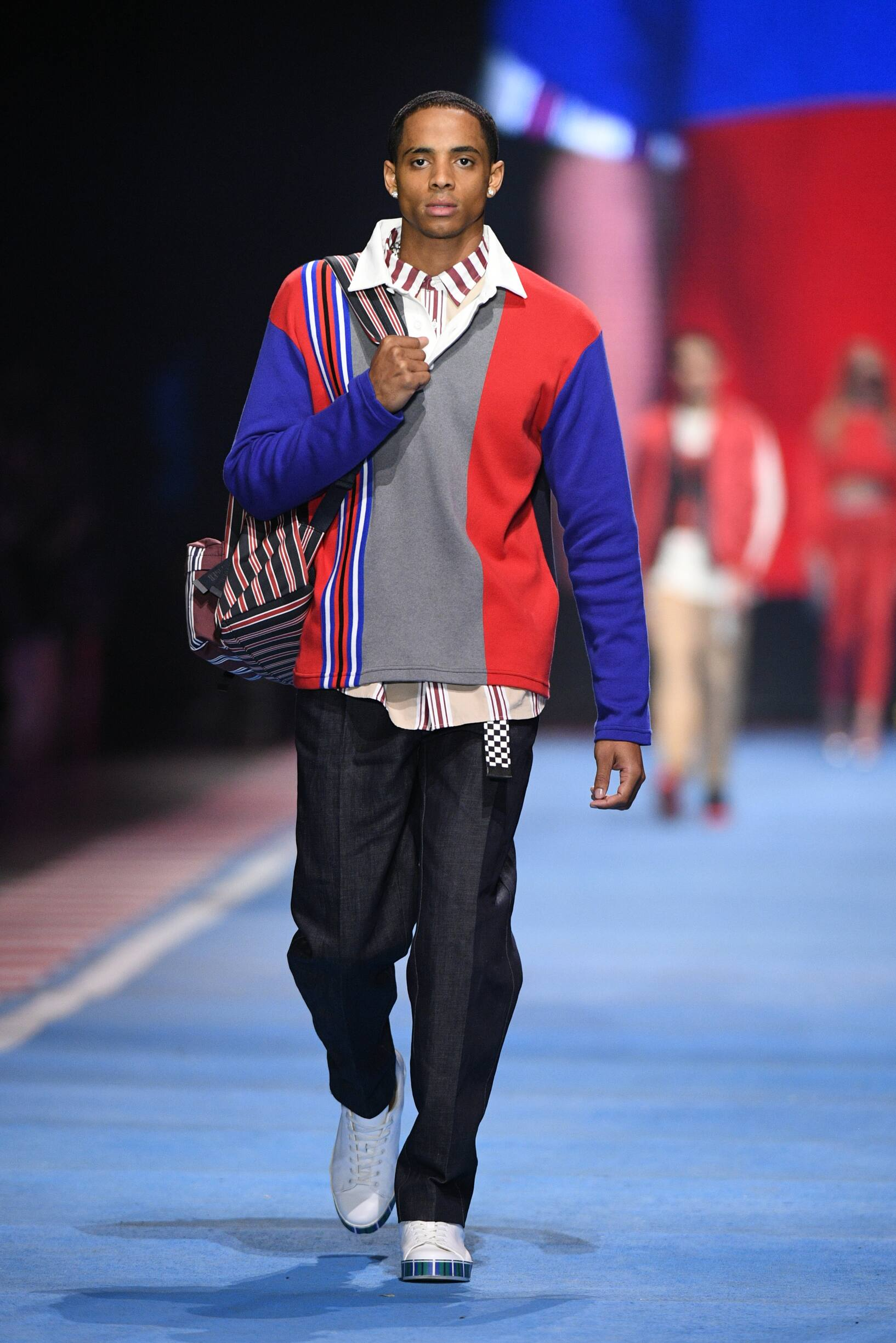 Menswear Spring Tommy Now Drive 2018 Fashion Week