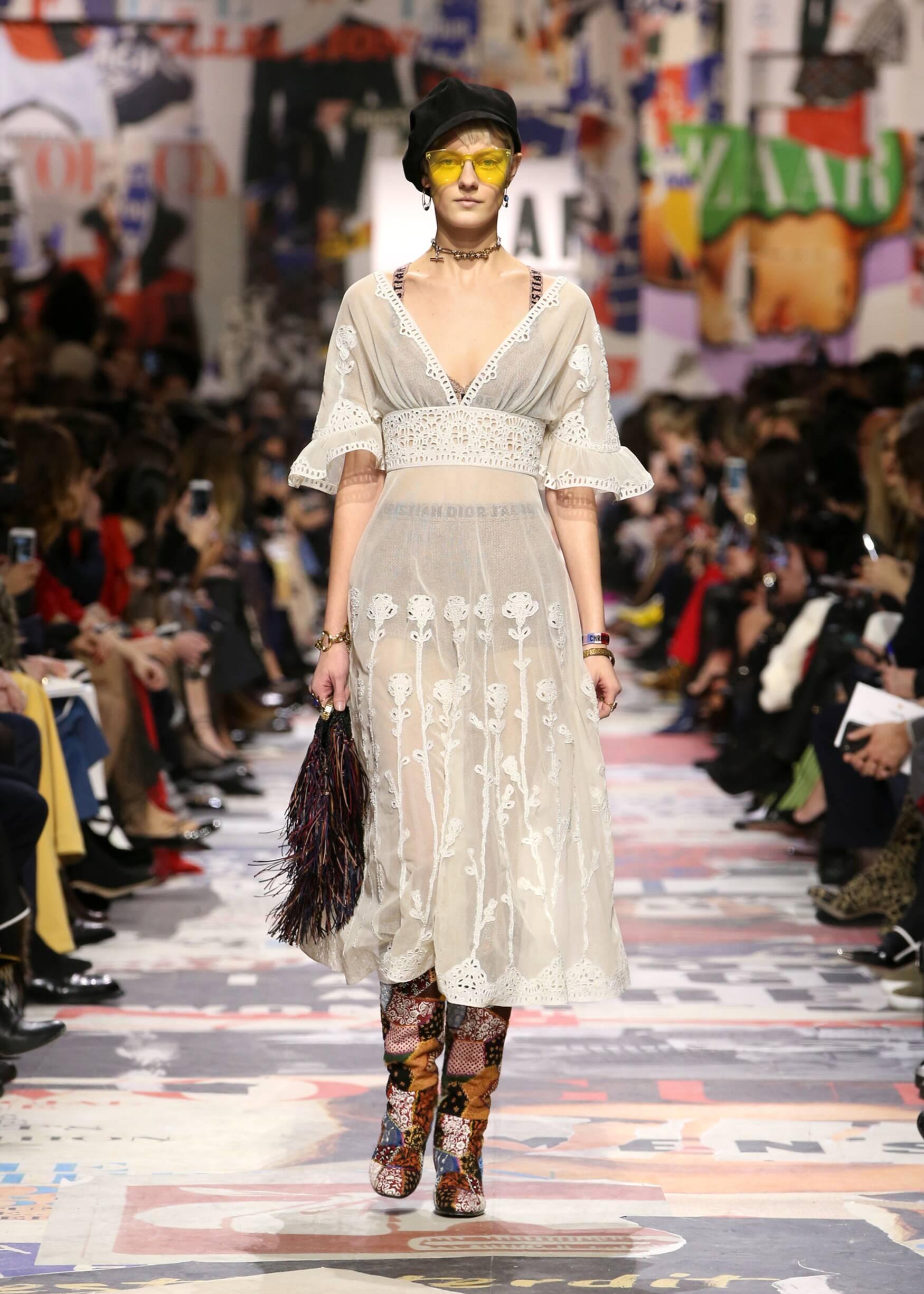 Model Catwalk Dior