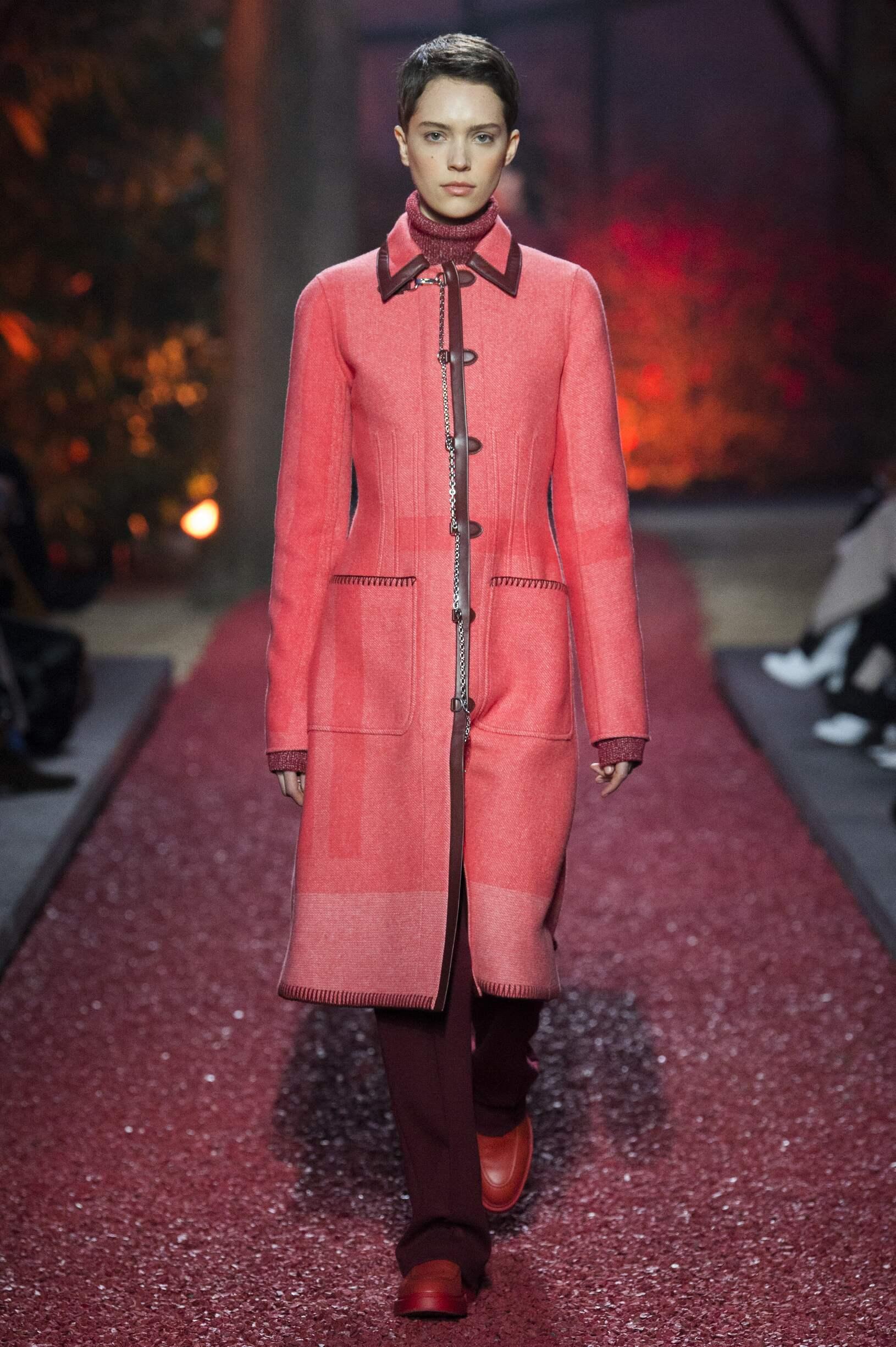 Model Catwalk Hermès