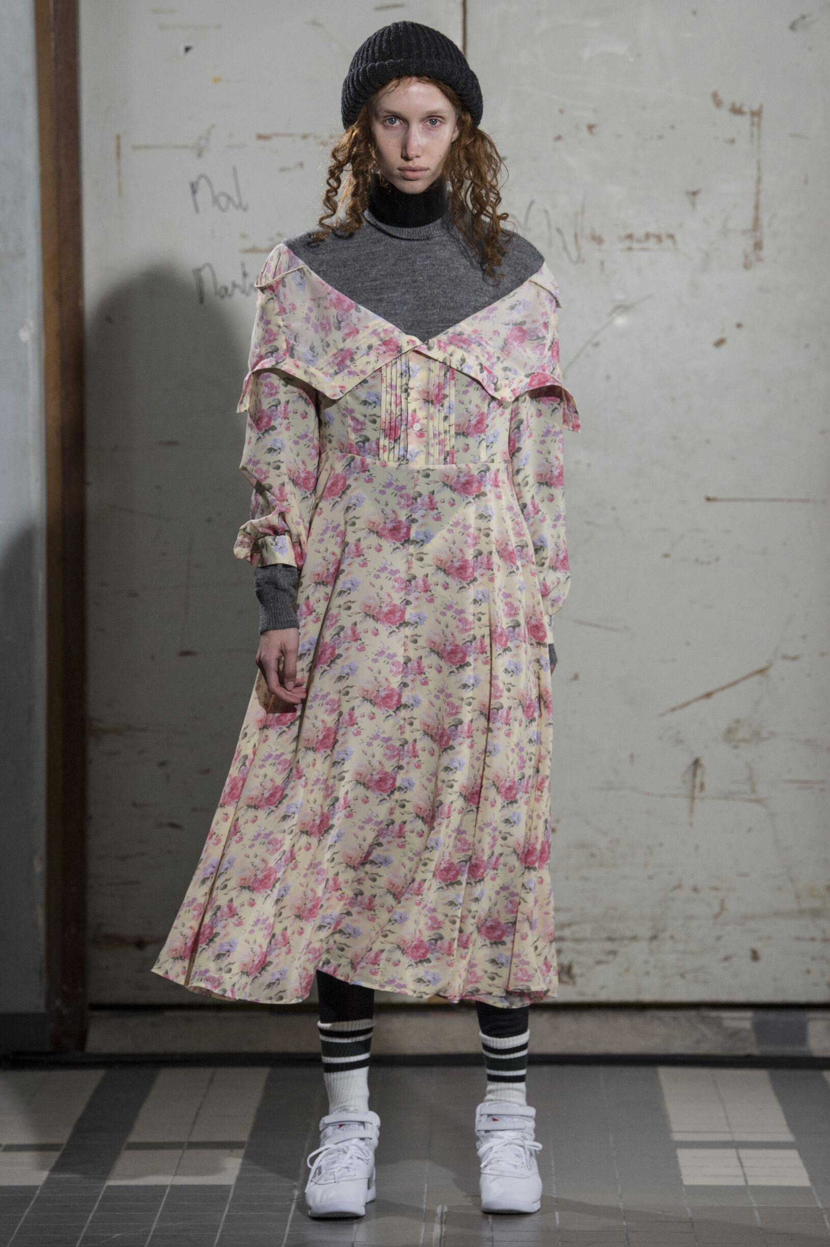 Model Catwalk Junya Watanabe