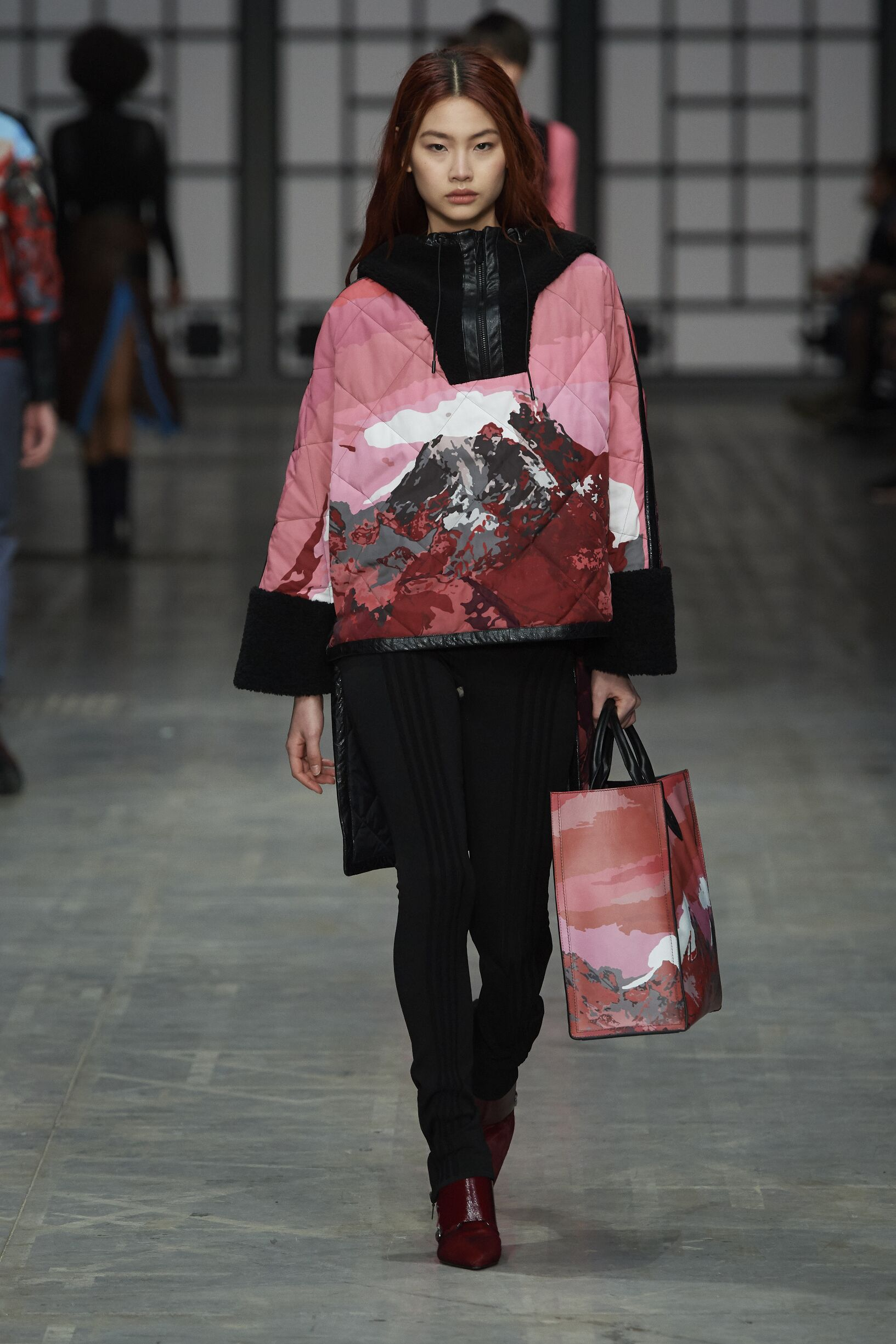 Model Catwalk Trussardi