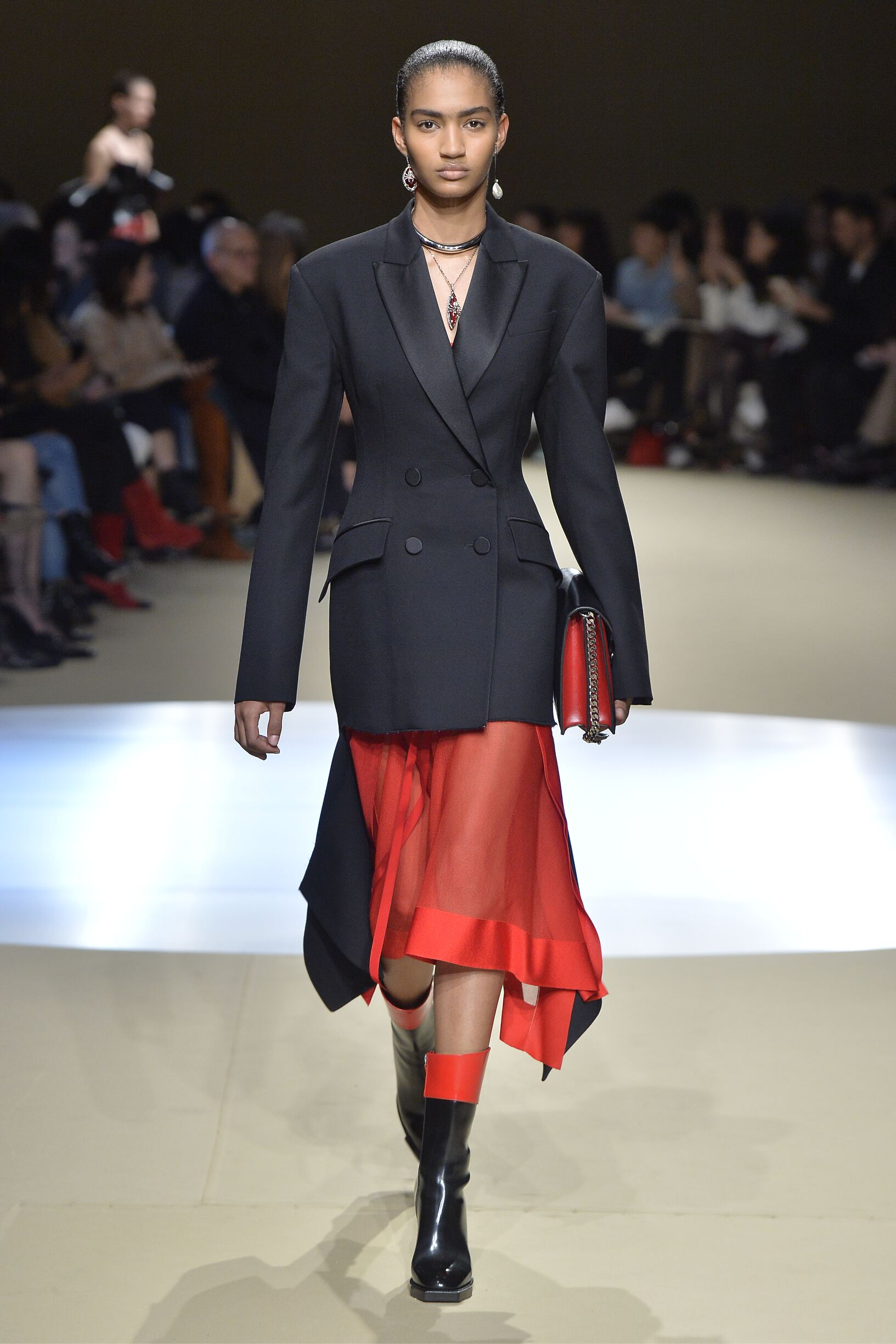 Model Fashion Show Alexander McQueen