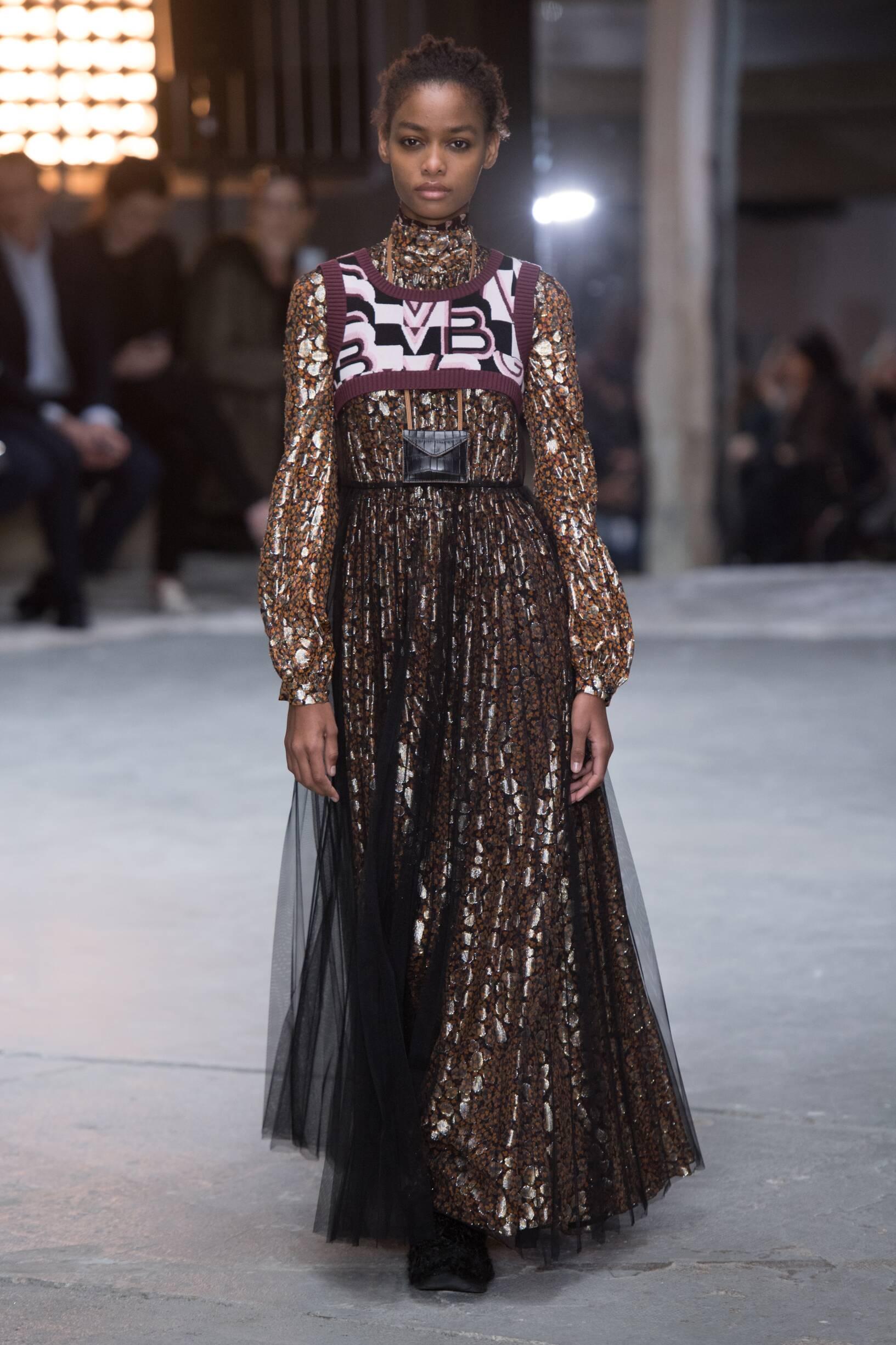 Model Fashion Show Giambattista Valli