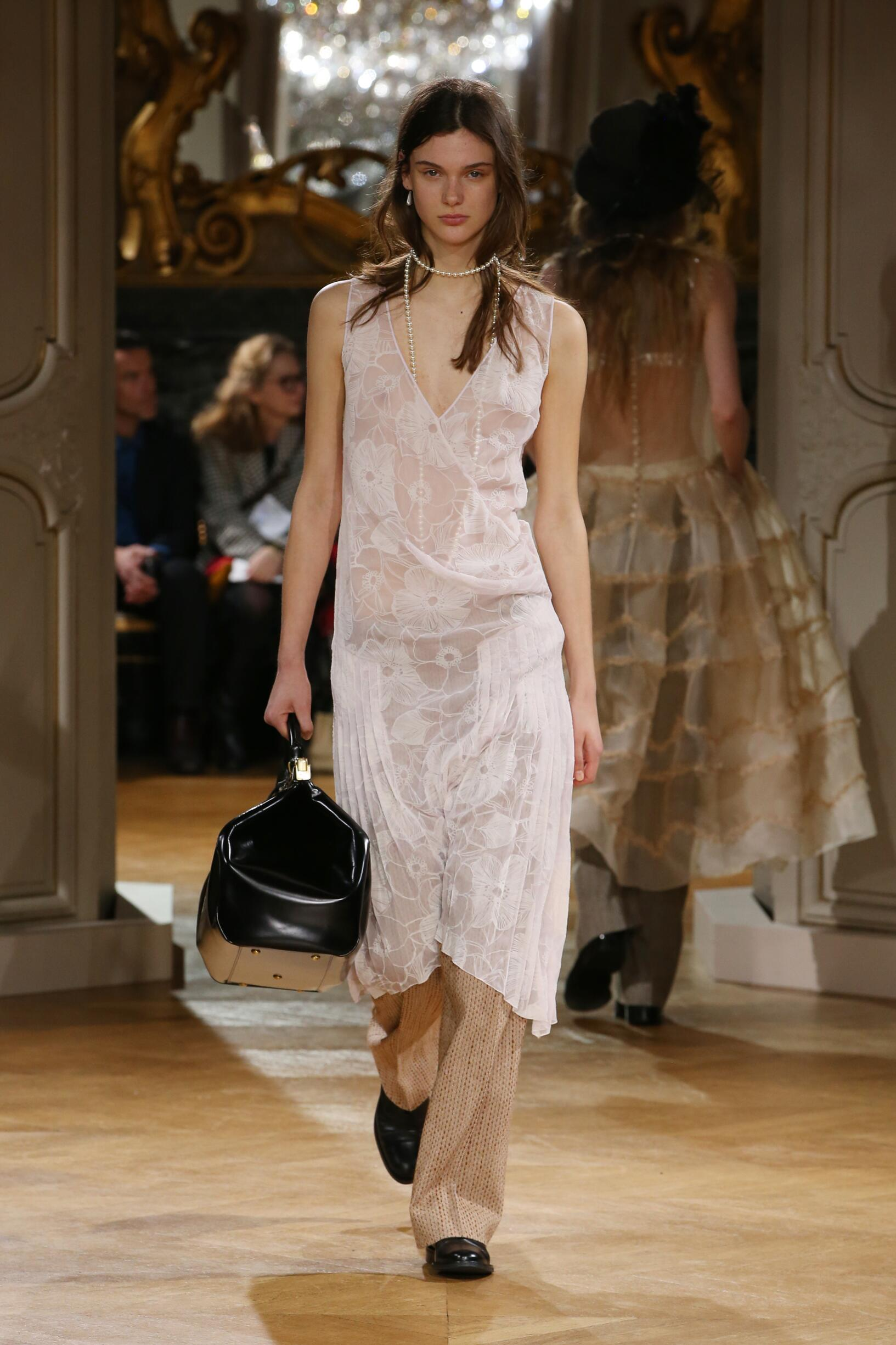Model Fashion Show John Galliano