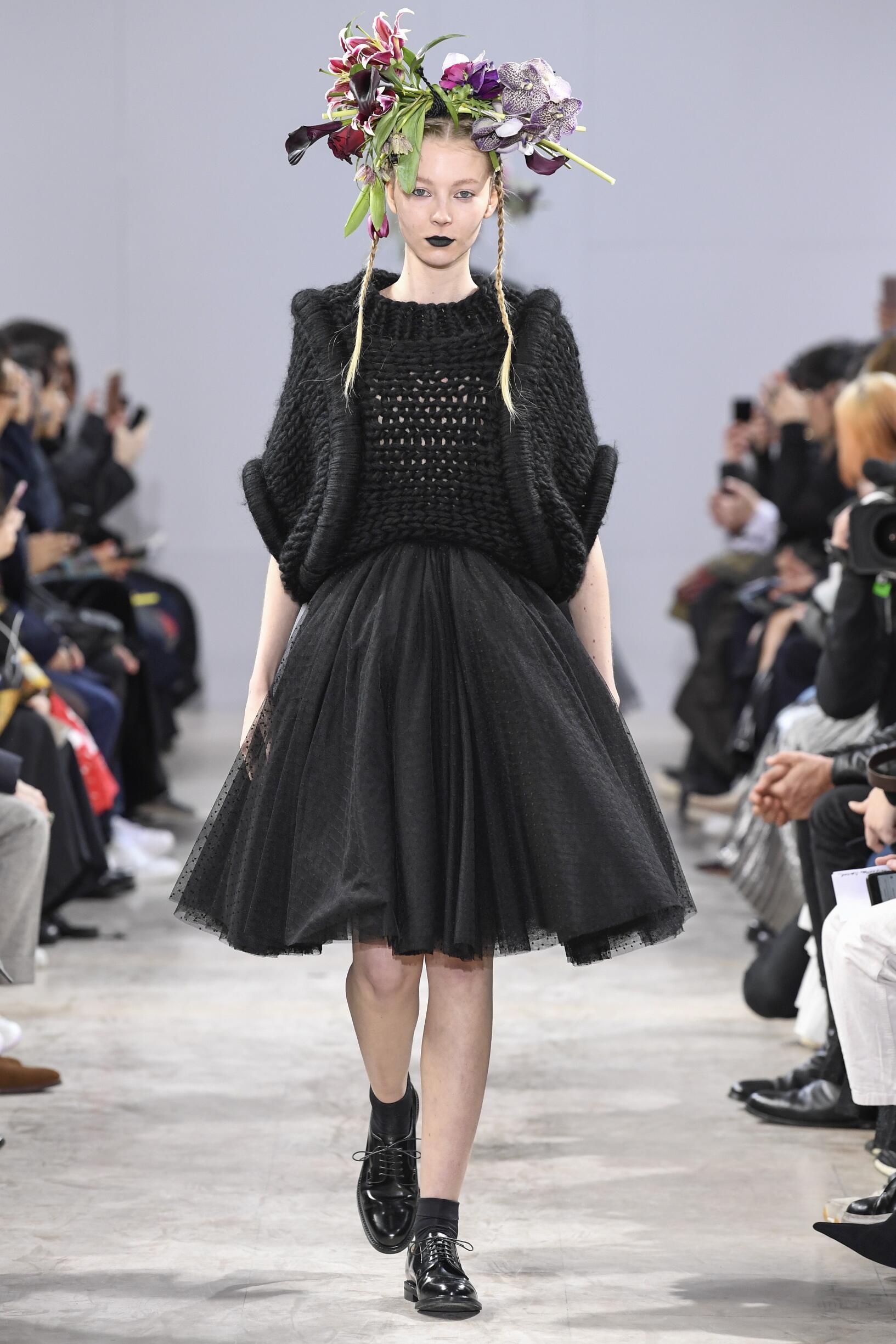 Noir Kei Ninomiya FW 2018 Womenswear
