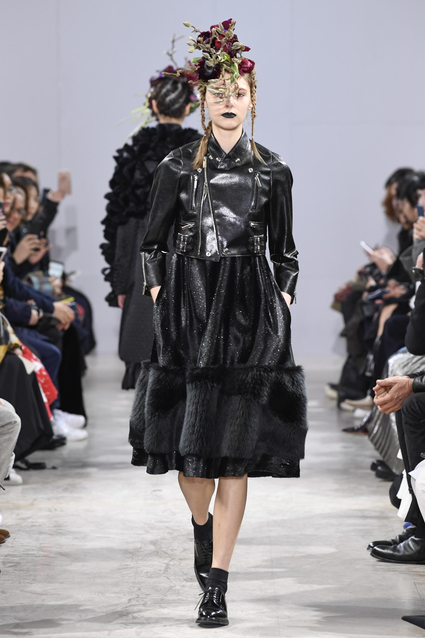 Noir Kei Ninomiya Fall Winter 2018 Womens Collection Paris Fashion Week