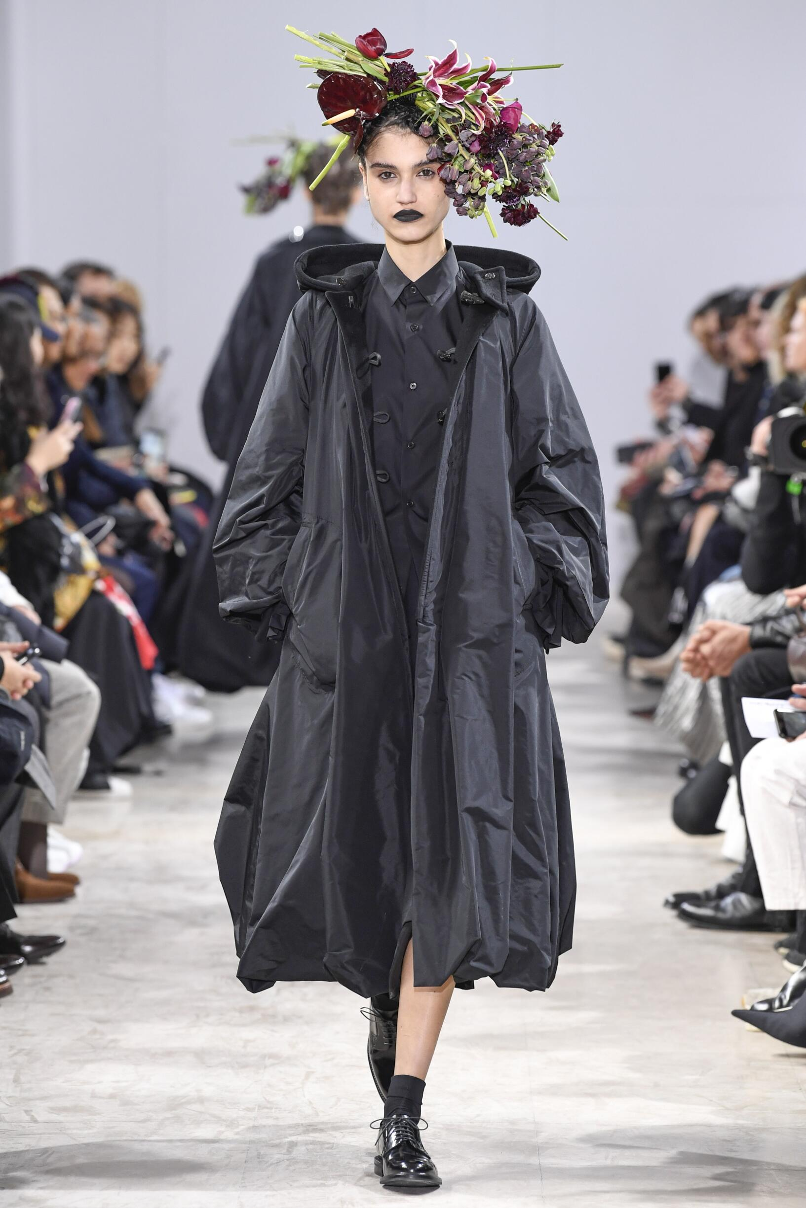 Noir Kei Ninomiya Paris Fashion Week Womenswear