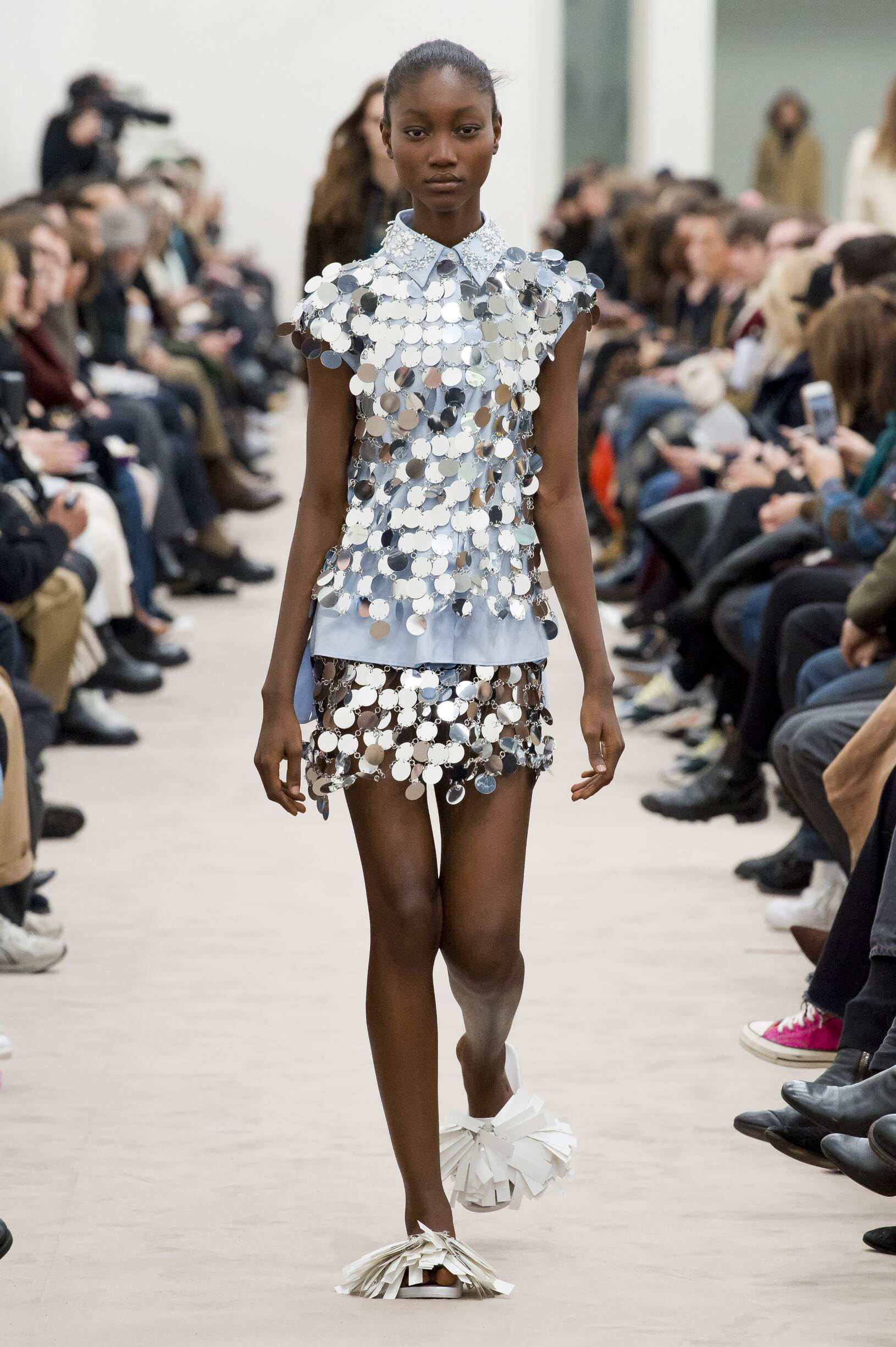 Paco Rabanne Fall 2018 Catwalk