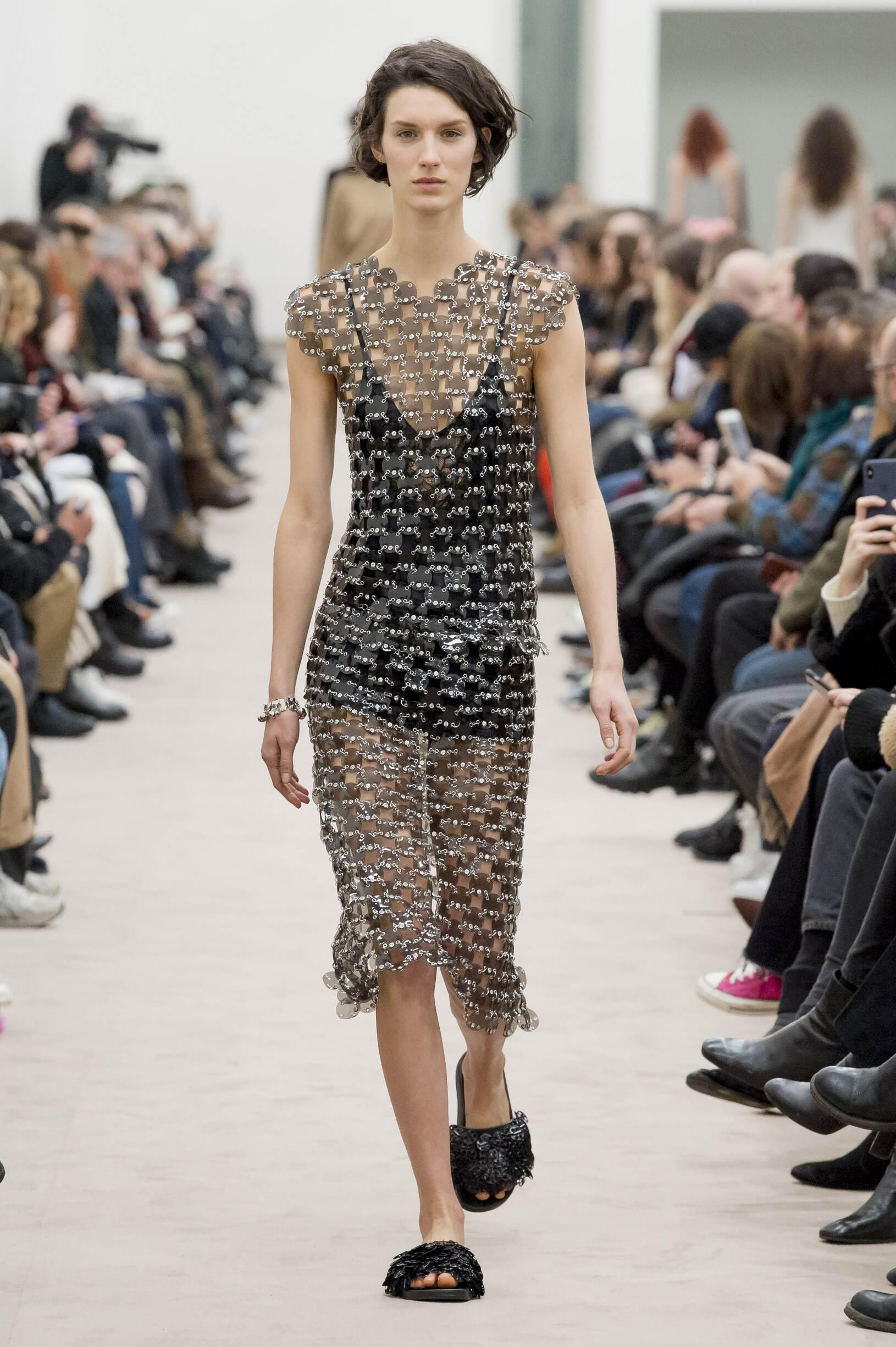 Paco Rabanne Fall Winter 2018 Womens Collection Paris Fashion Week