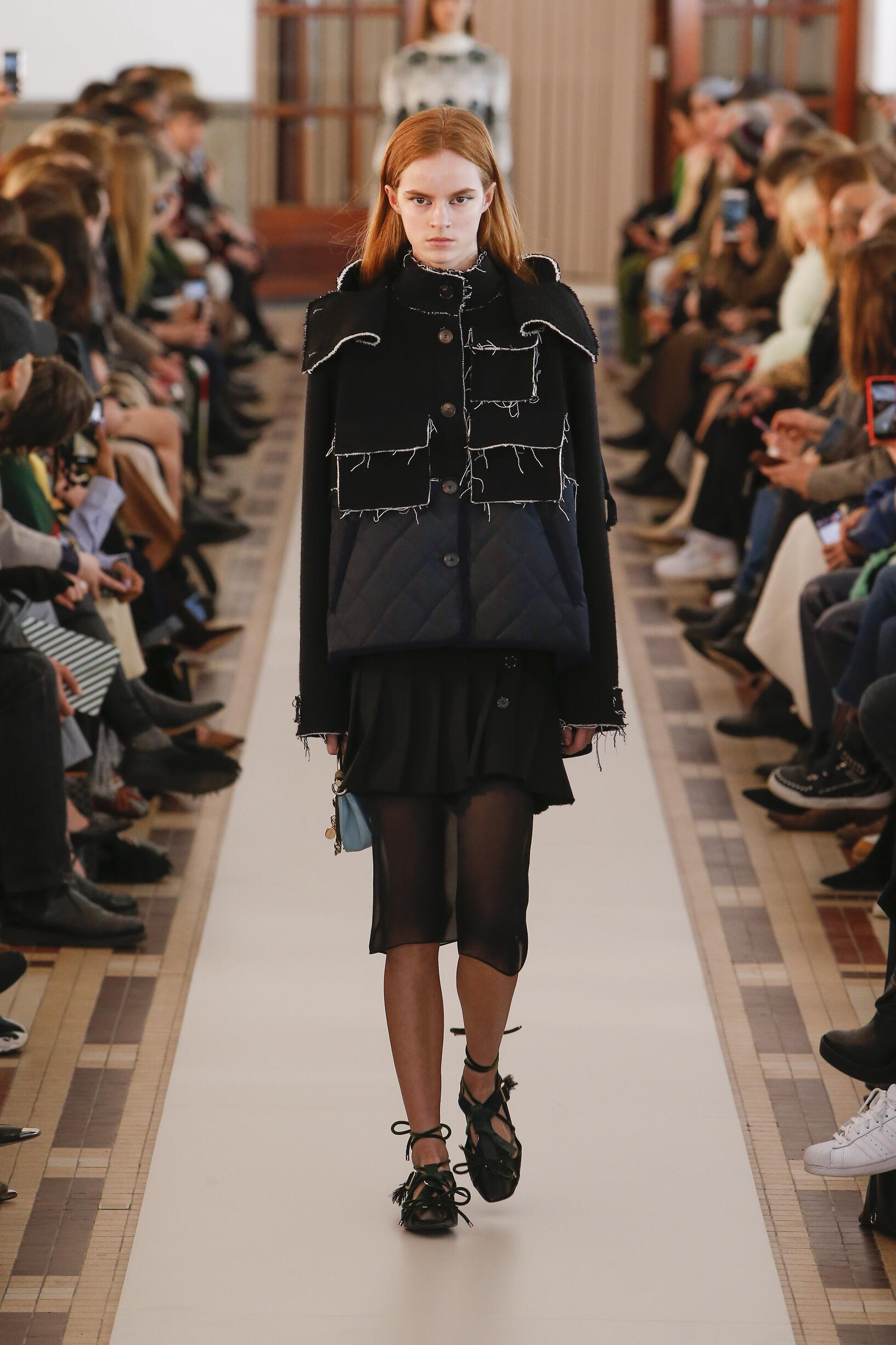 Runway Carven Fall Winter 2018 Women's Collection Paris Fashion Week