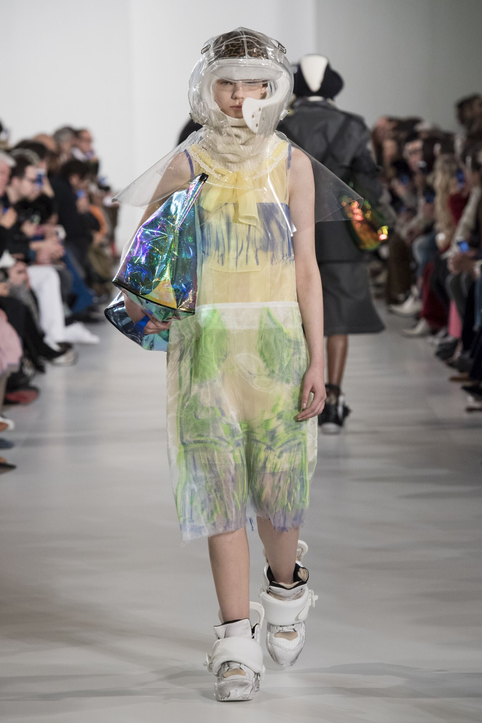 Runway Maison Margiela Fall Winter 2018 Women's Collection Paris Fashion Week