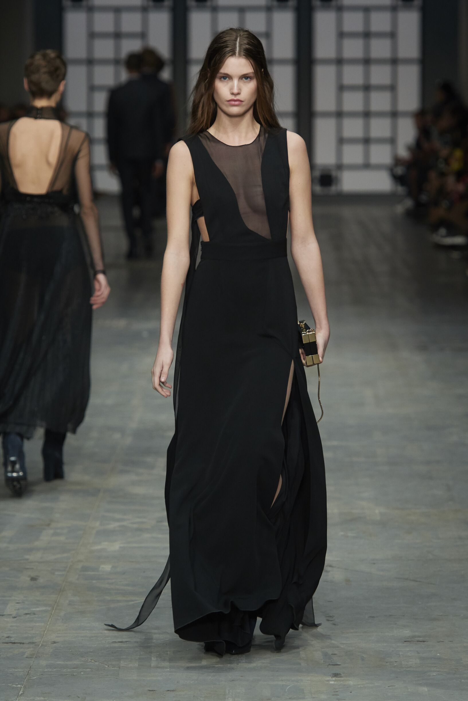 Runway Model Fashion Show Trussardi