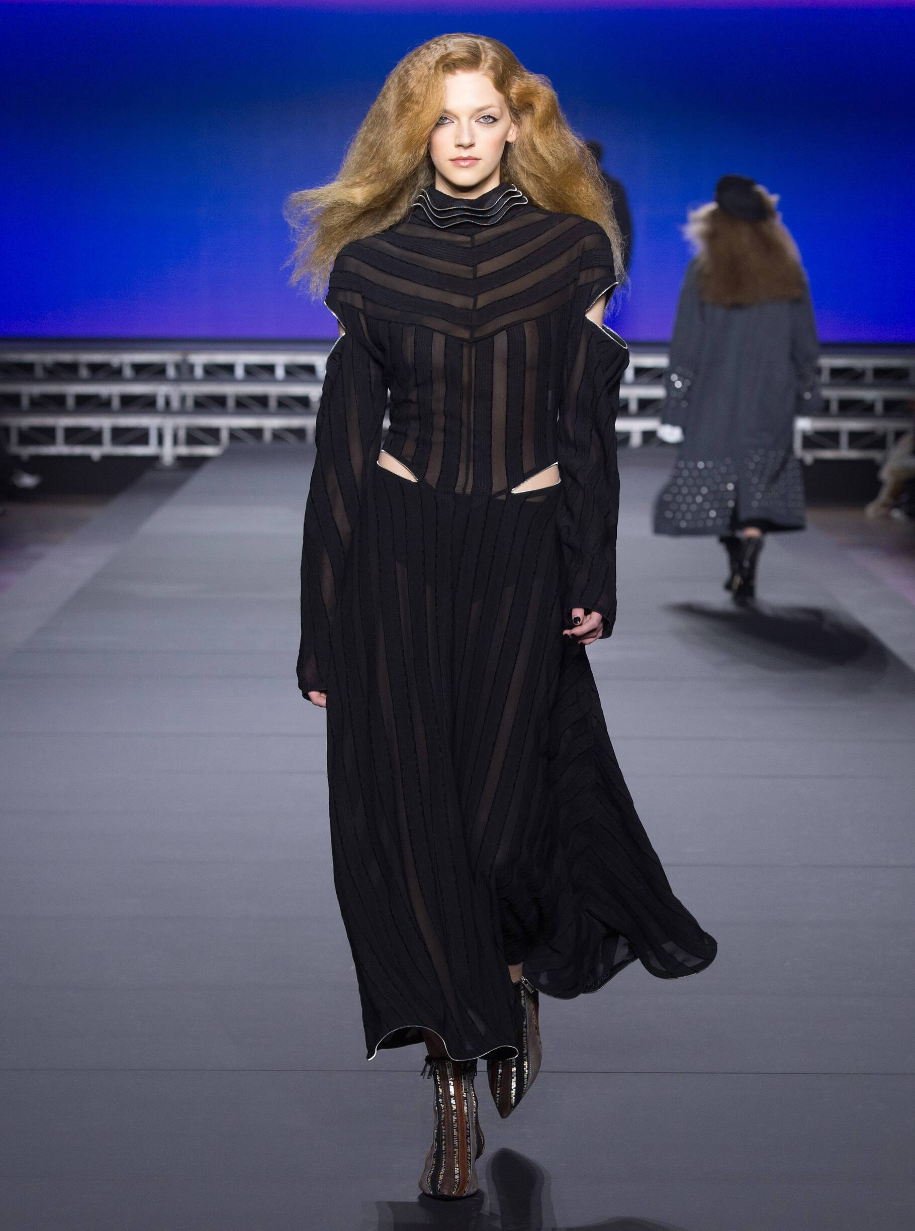 Runway Sonia Rykiel Fall Winter 2018 Women's Collection Paris Fashion Week