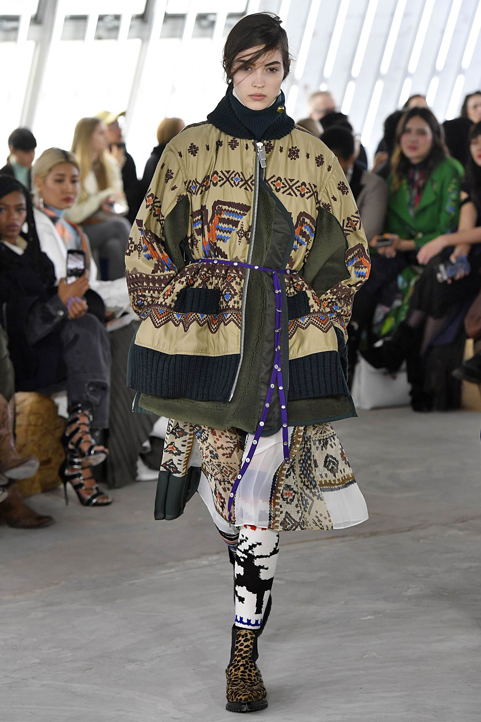 Sacai Paris Fashion Week Womenswear