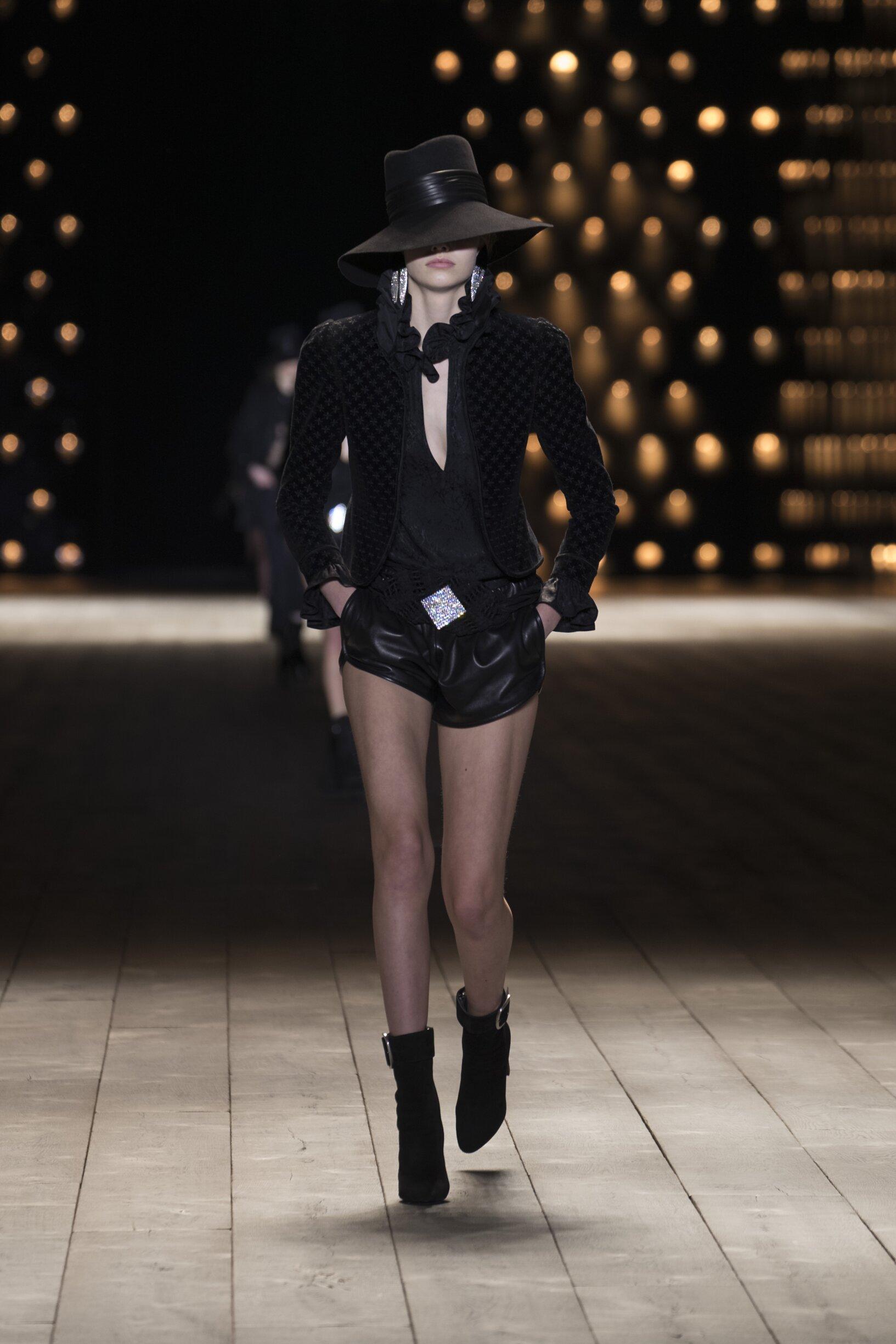 Saint Laurent Fashion Show FW 2018