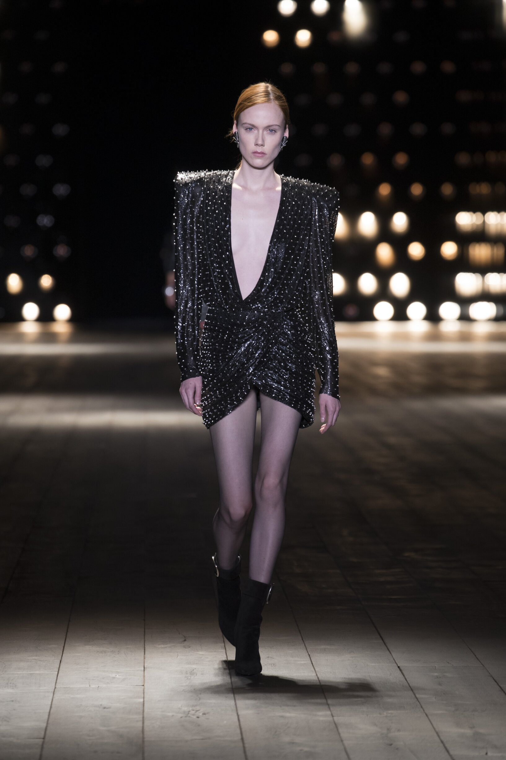 Saint Laurent Paris Fashion Week Womenswear Trends