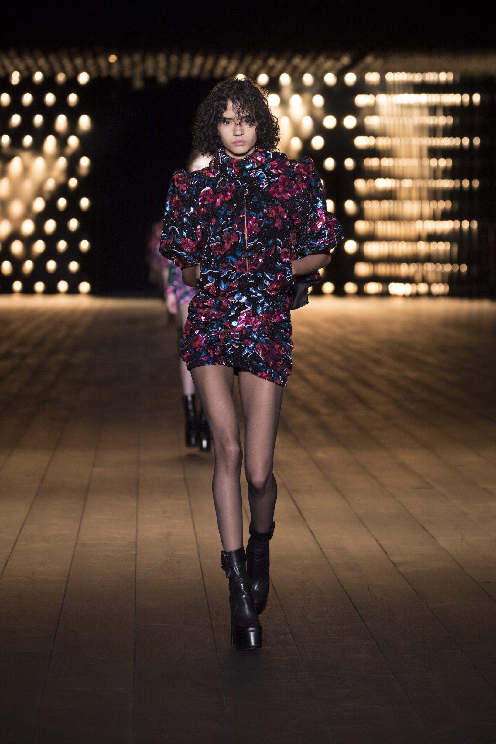 Saint Laurent Womenswear Collection Trends Winter