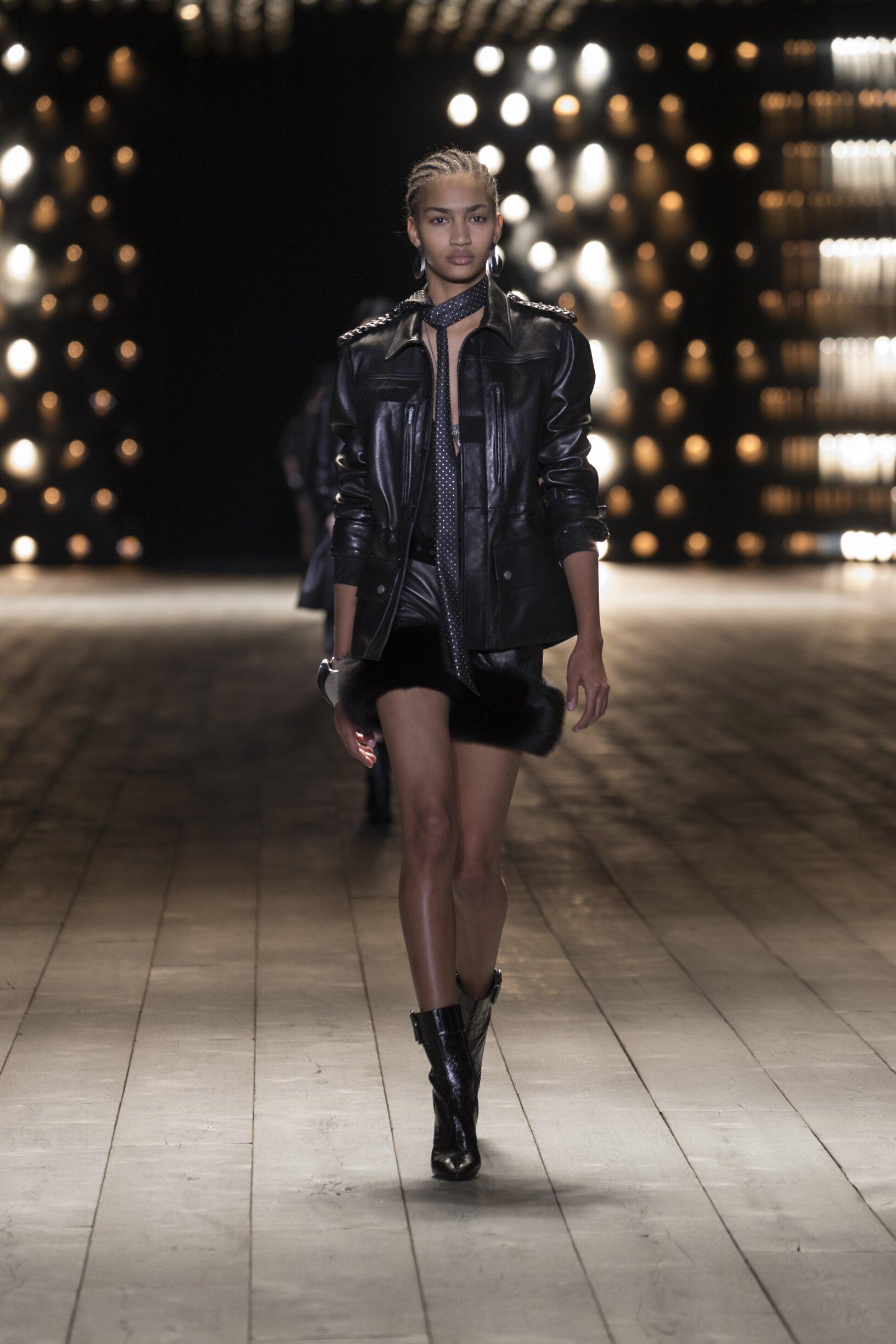 Saint Laurent Womenswear Fashion Show