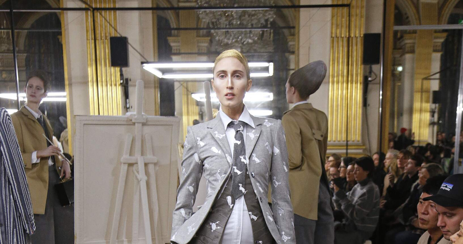 Thom Browne Fashion Show FW 2018 Paris
