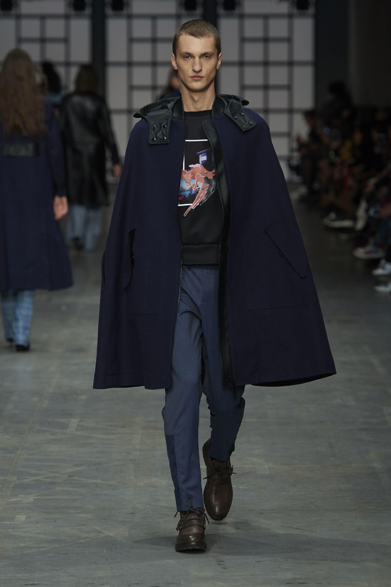 Trussardi 2018 Menswear Milan