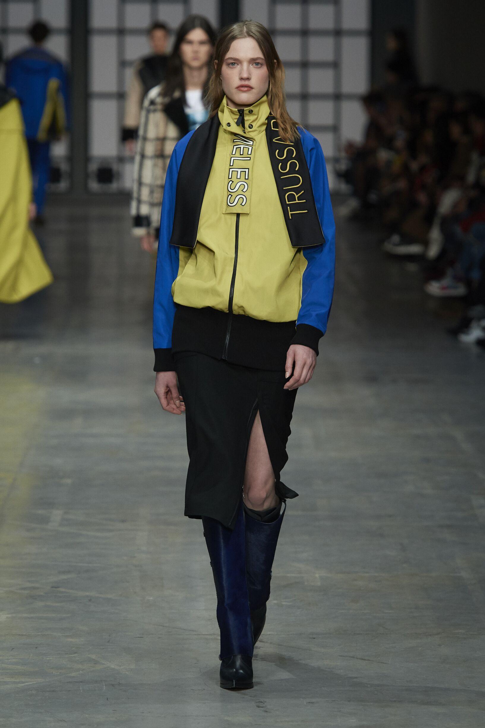 Trussardi Fall Winter 2018 Womens Collection Milan Fashion Week
