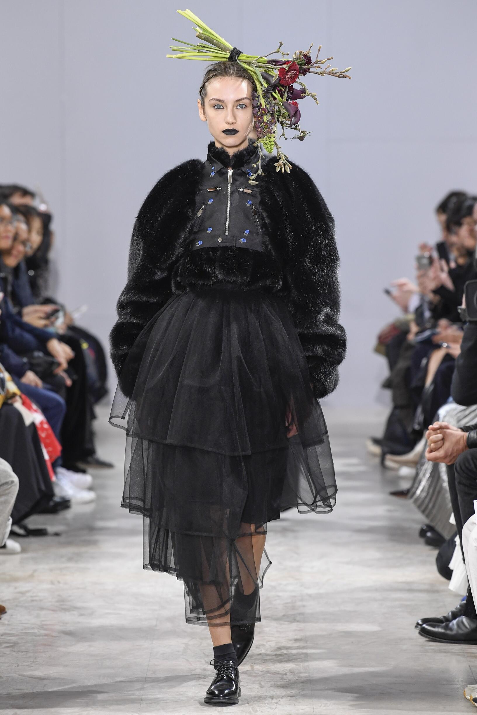 Winter 2018 Woman Trends Noir Kei Ninomiya