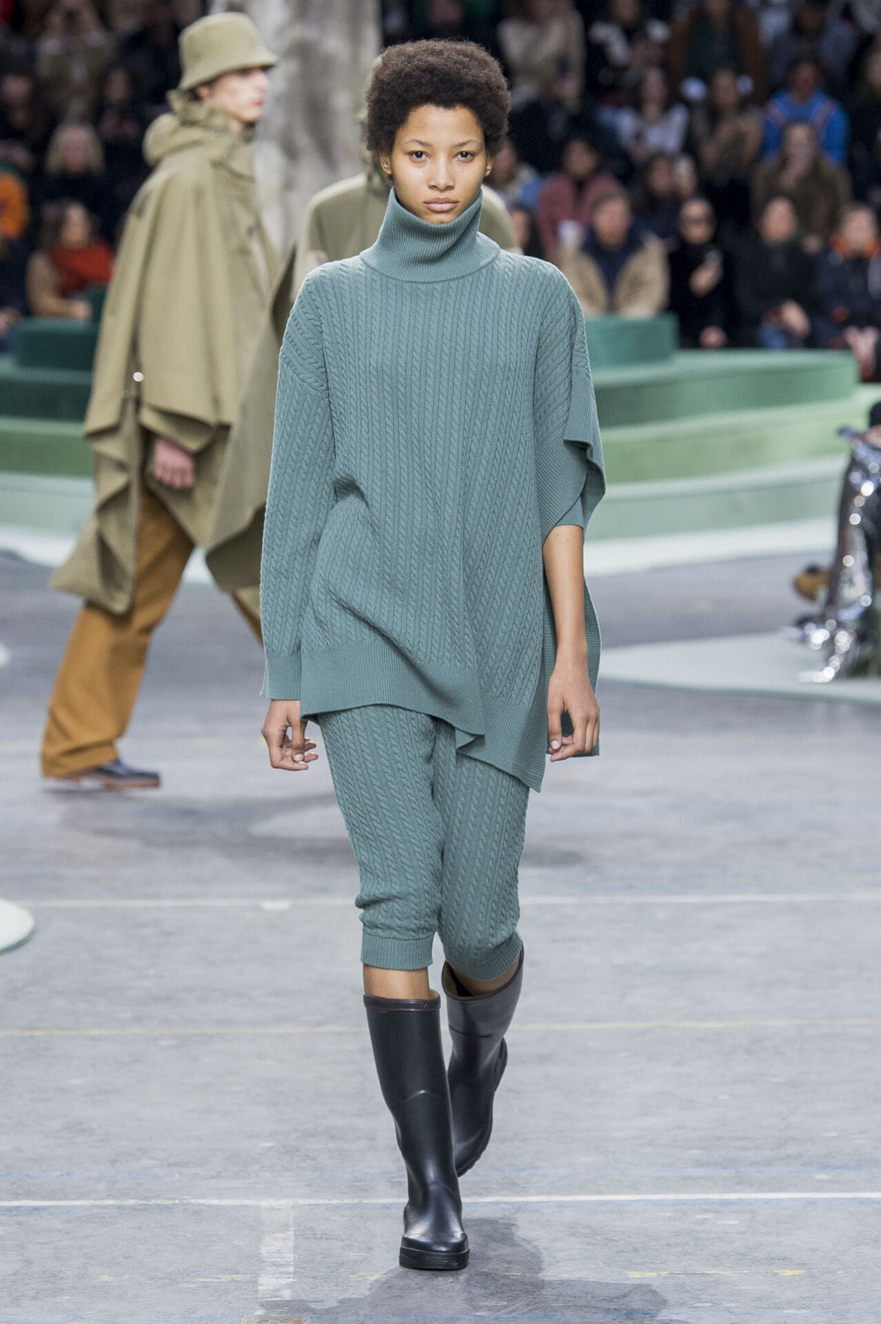 Woman FW 2018-19 Fashion Show Lacoste