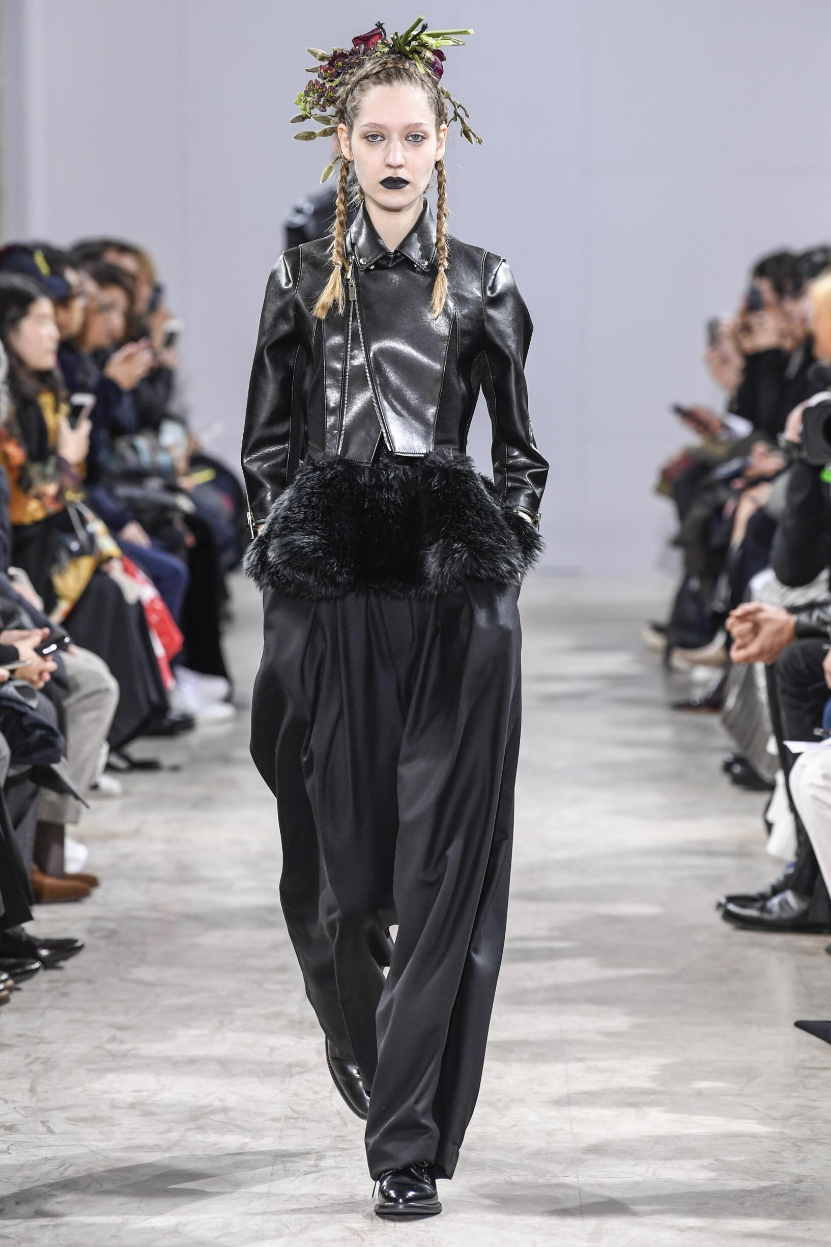 Woman Fall 2018 Fashion Trends Noir Kei Ninomiya