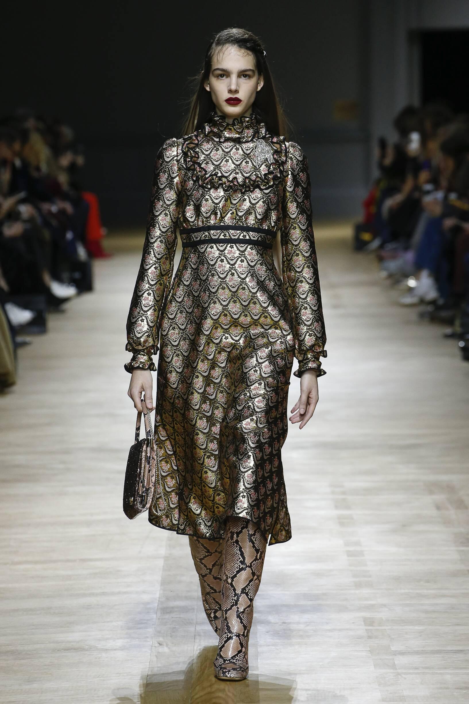 Woman Fall 2018 Fashion Trends Rochas
