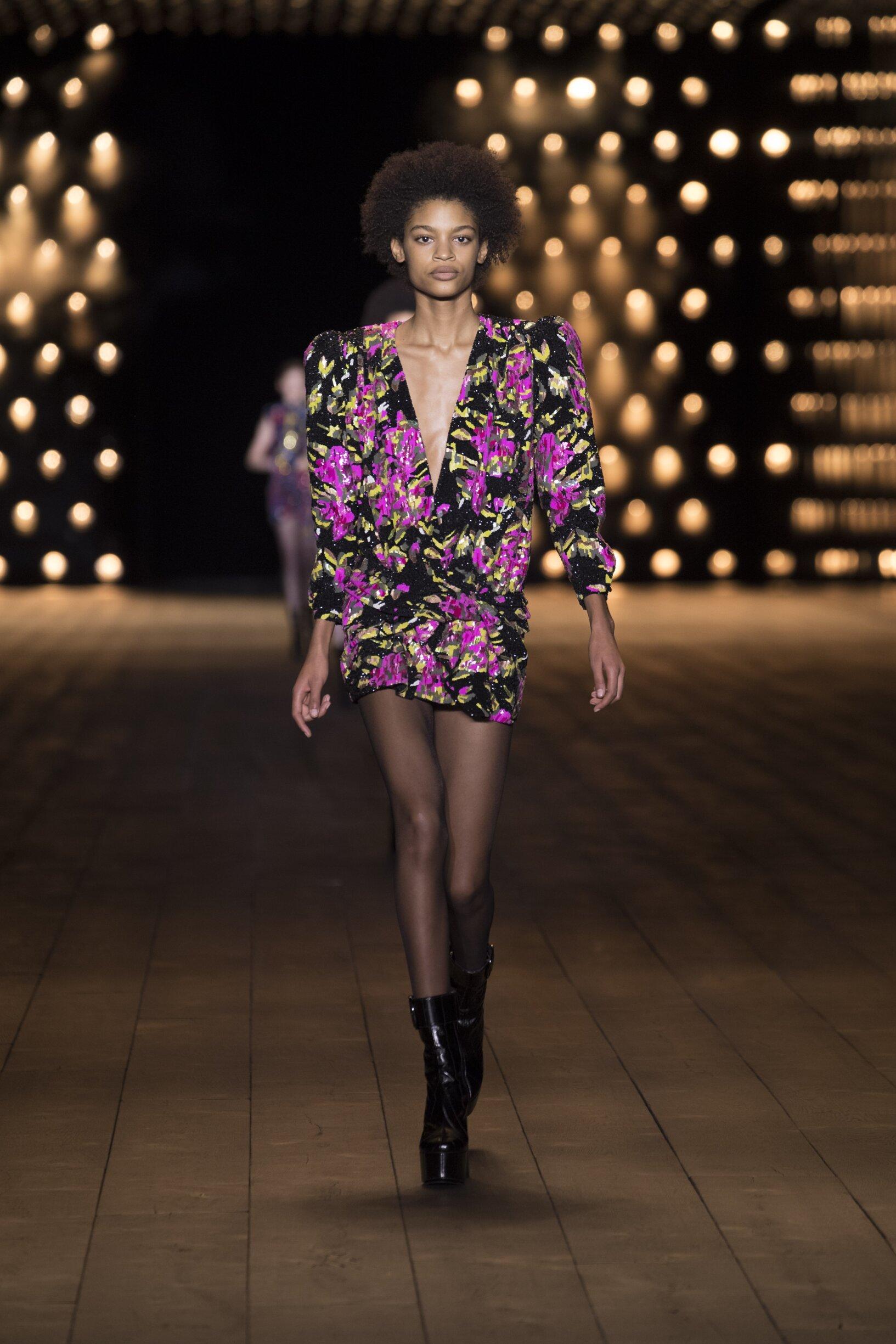 Womenswear Fall Winter Saint Laurent 2018