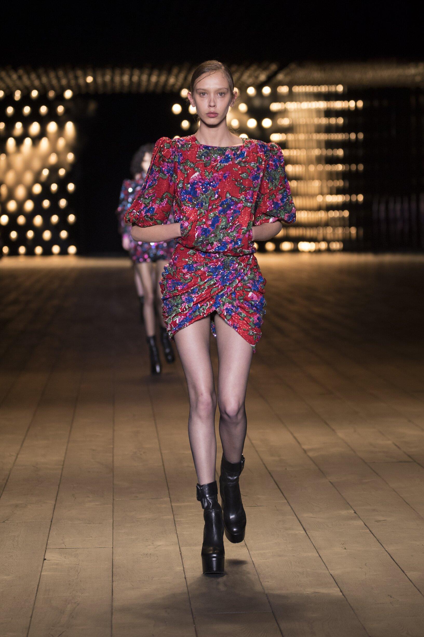 Womenswear Fashion 2018-19 Catwalk Saint Laurent