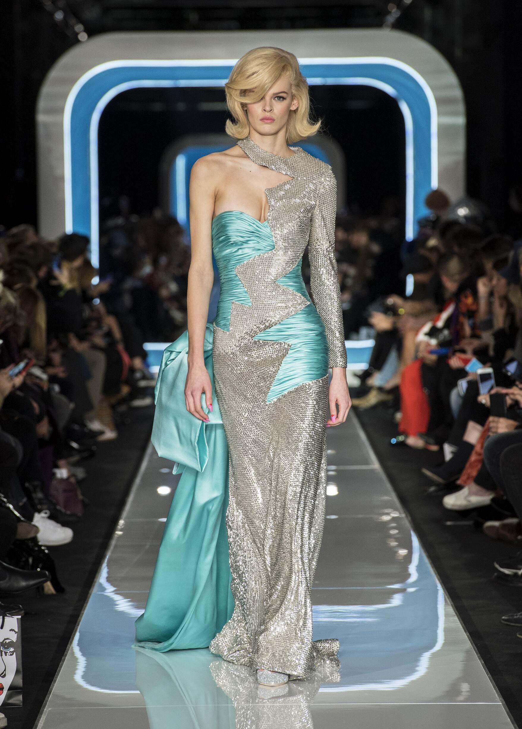 Womenswear Runway Fashion Show Moschino