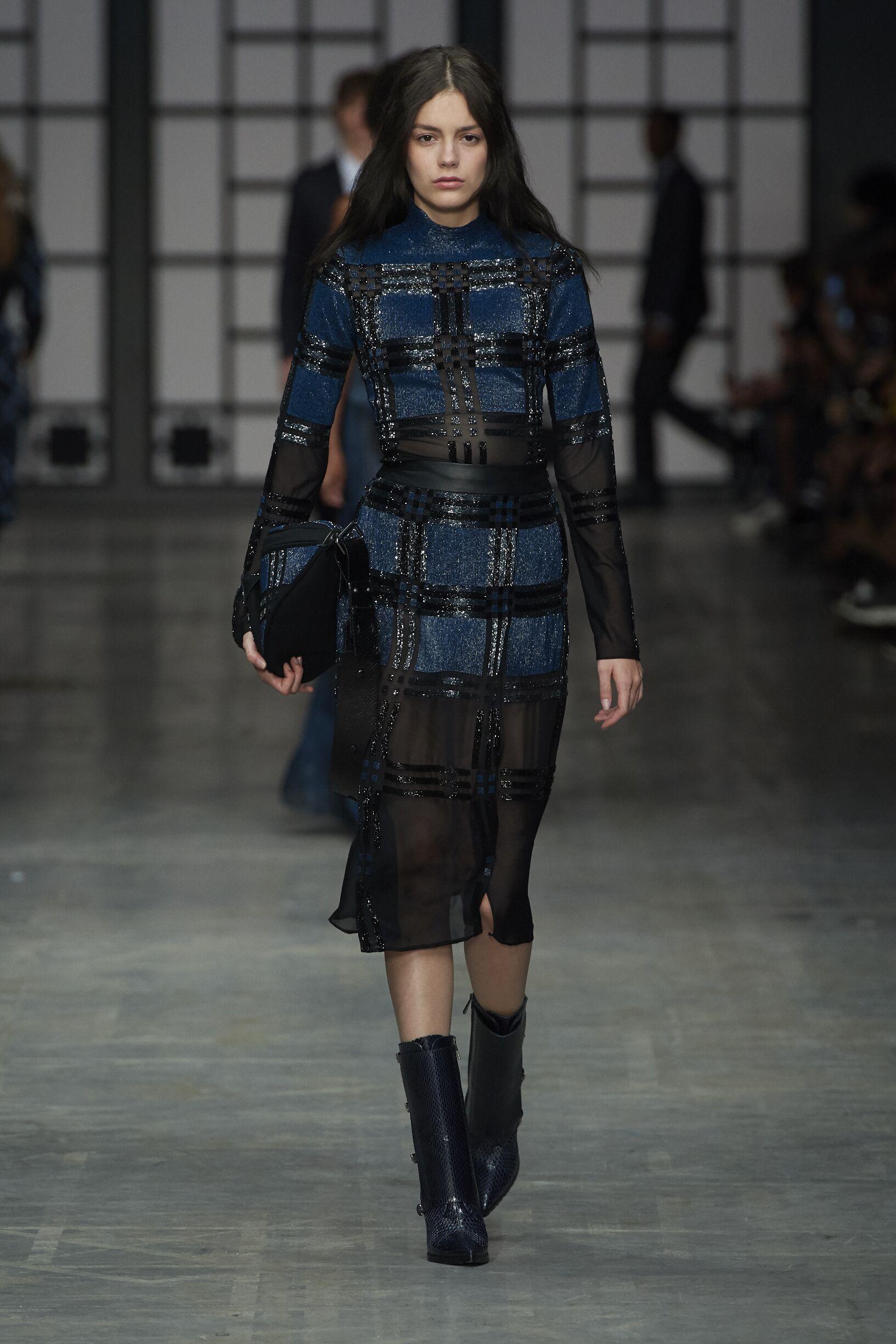 Womenswear Runway Fashion Show Trussardi
