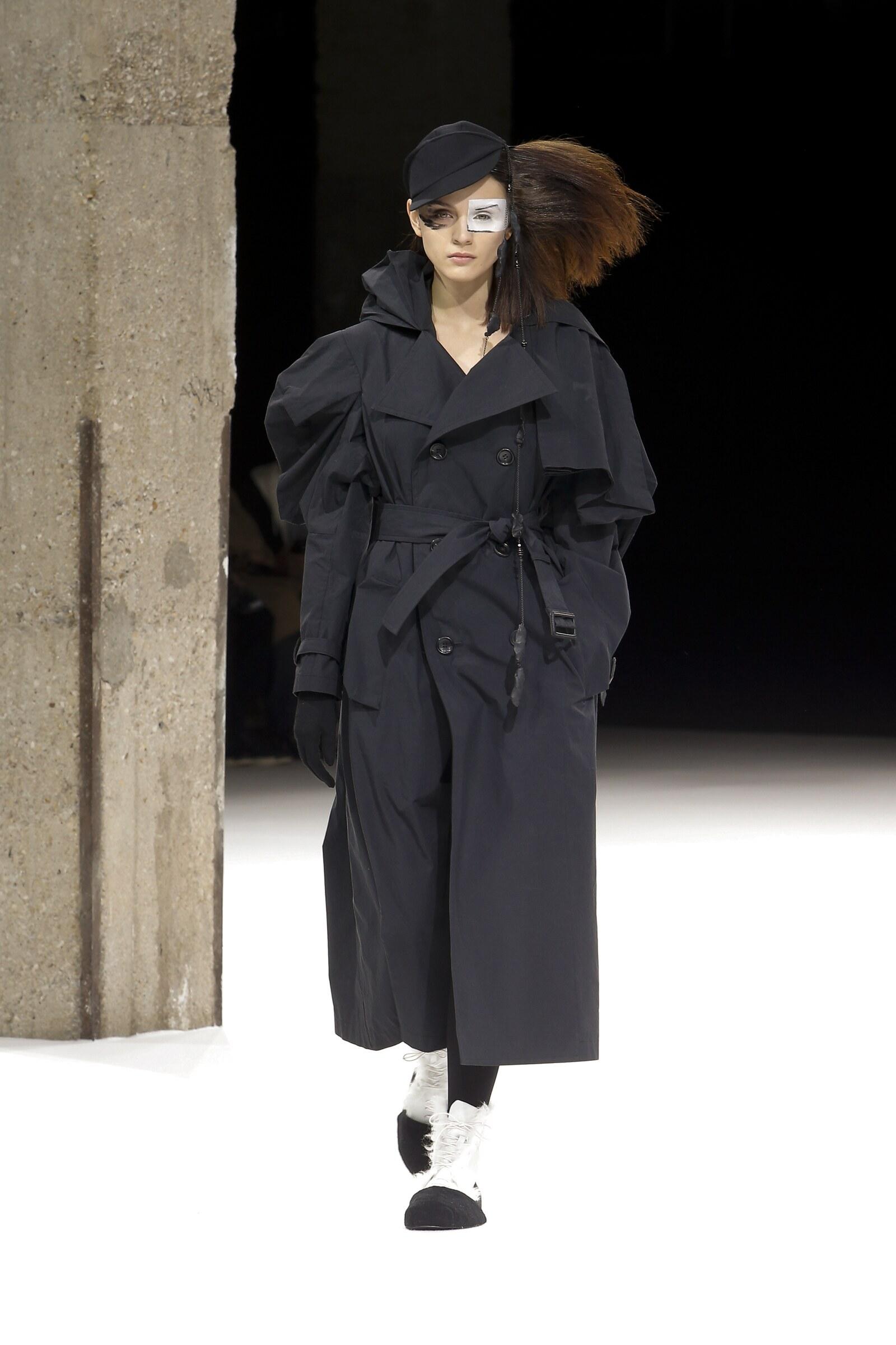 Yohji Yamamoto Catwalk