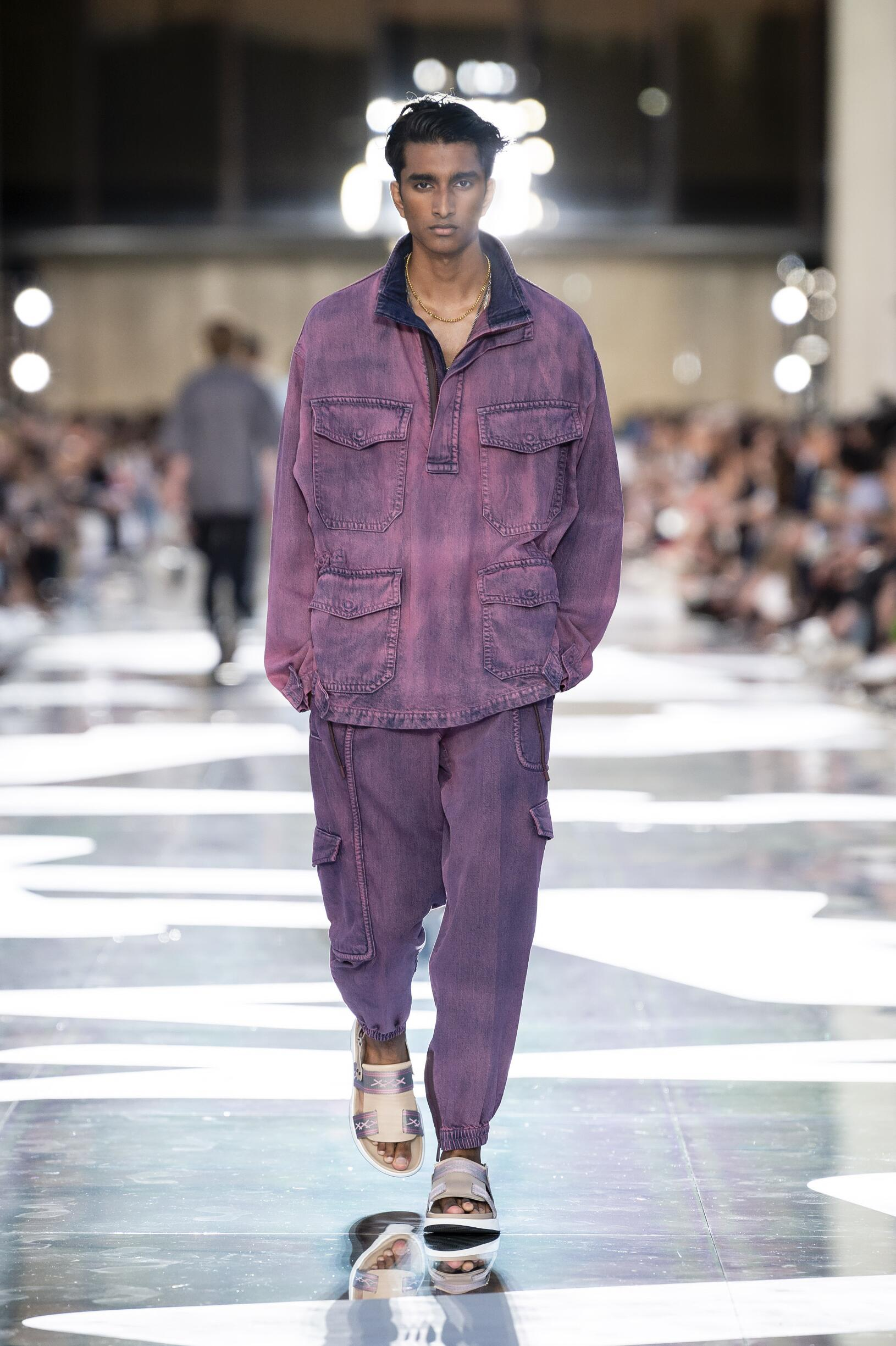 2019 Catwalk Ermenegildo Zegna Couture Man Fashion Show Summer