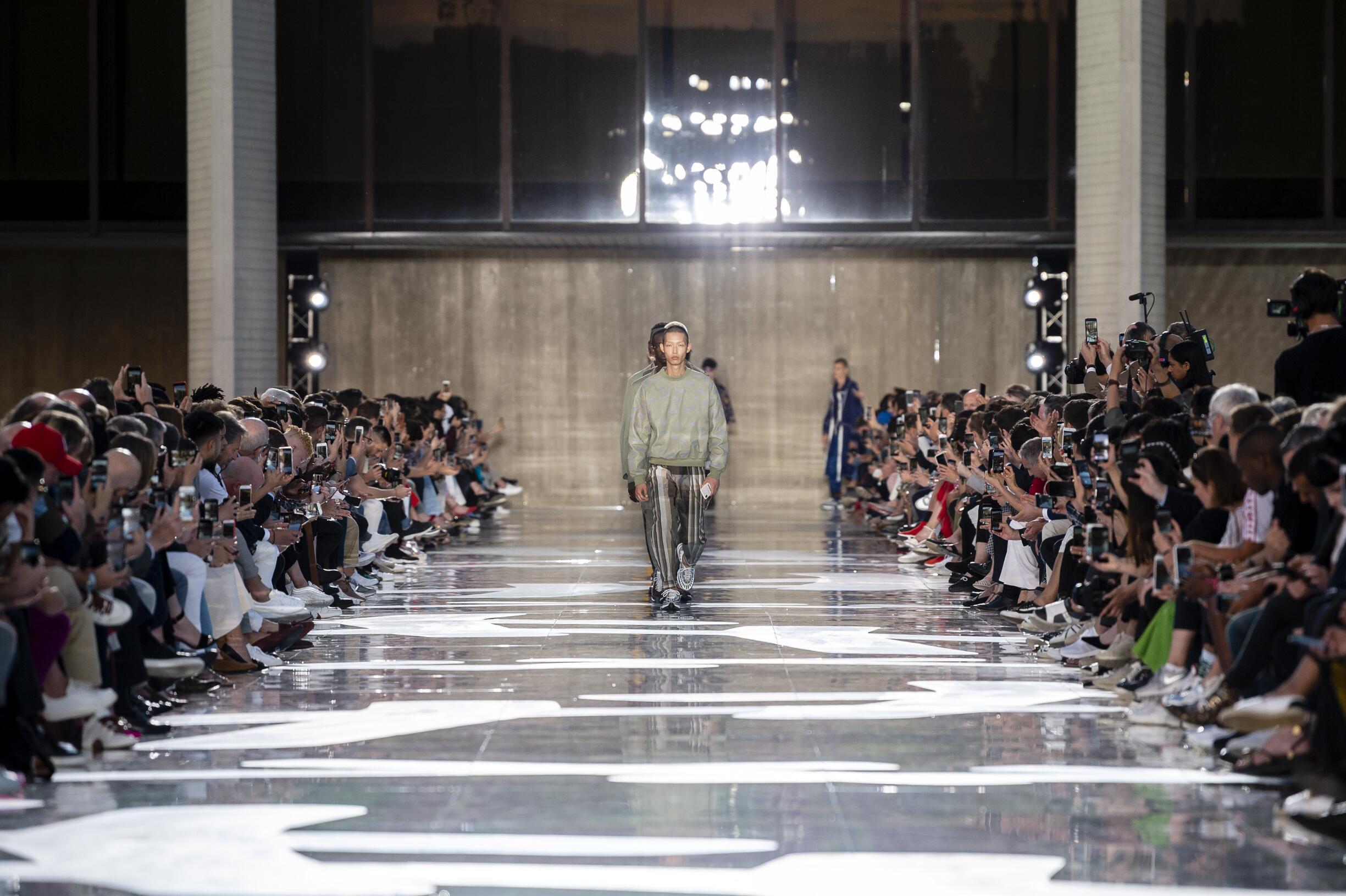 2019 Ermenegildo Zegna Couture Finale