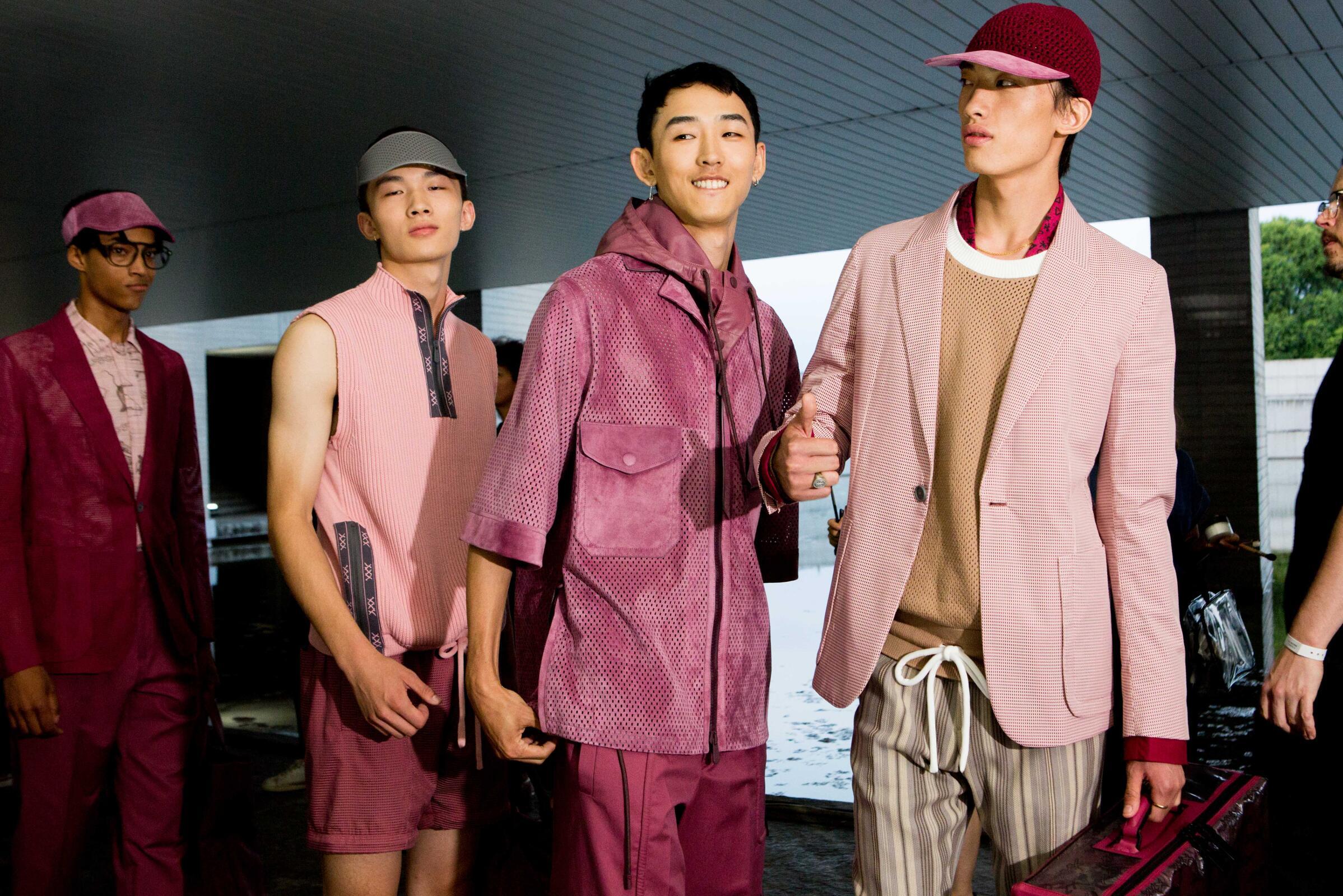 Backstage Ermenegildo Zegna Couture Fashion Trends 2019