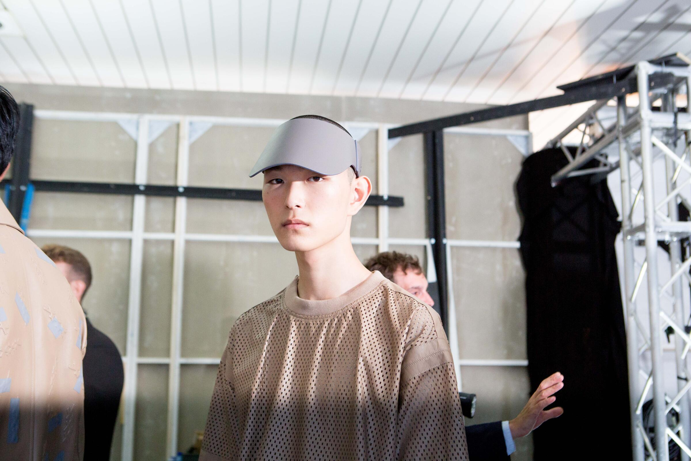 Backstage Ermenegildo Zegna Couture Model 2019