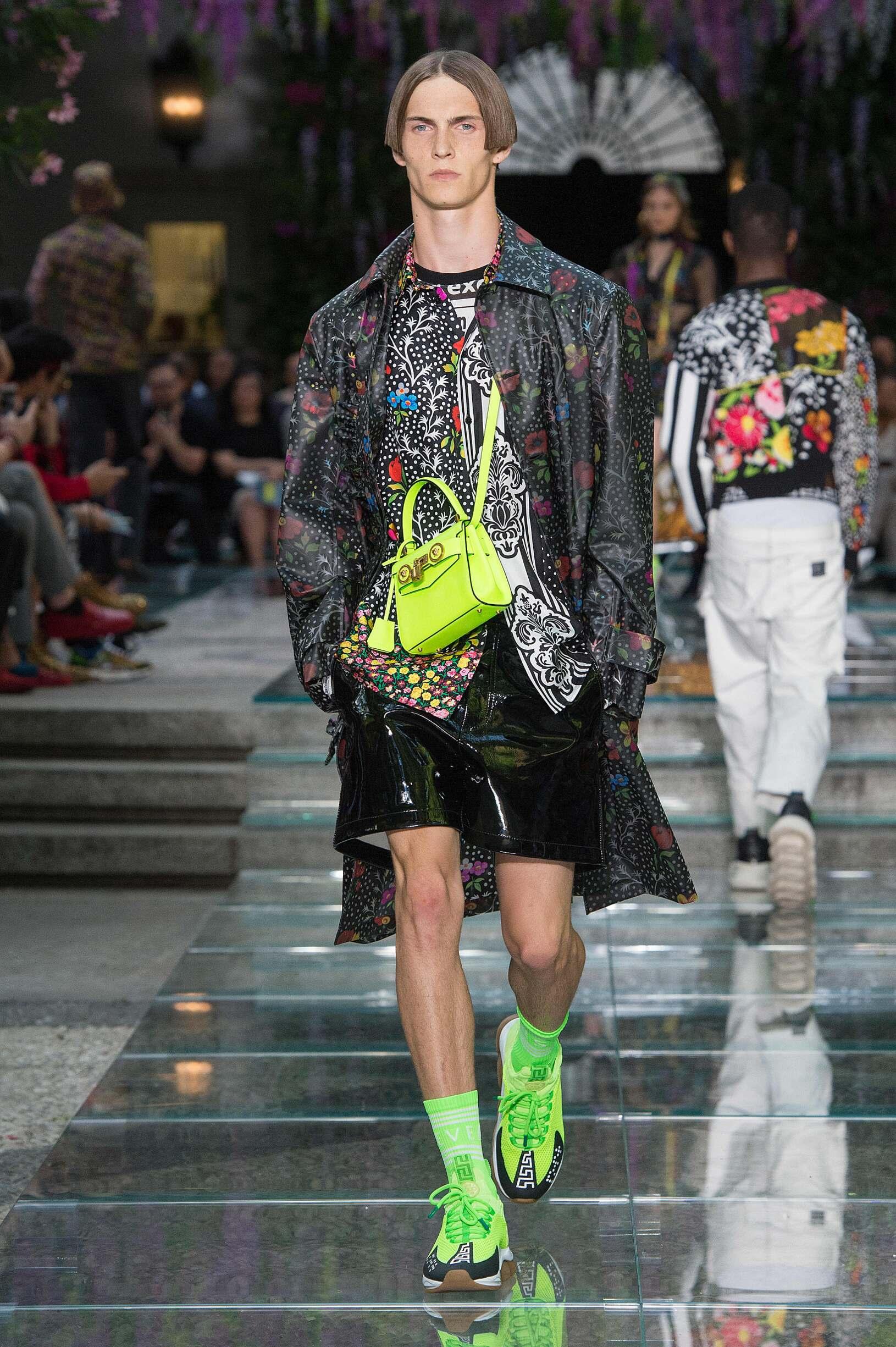 Catwalk Versace Summer 2019