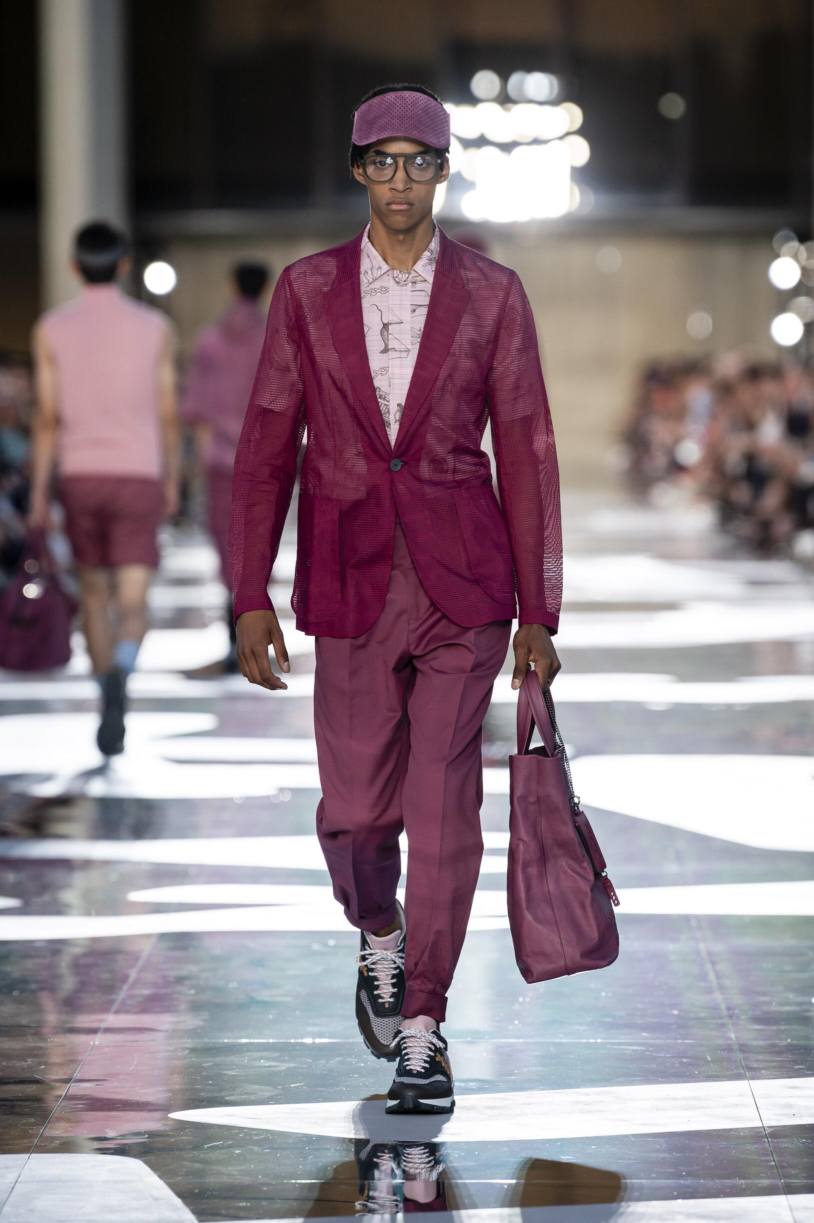 Fashion 2019 Catwalk Ermenegildo Zegna Couture