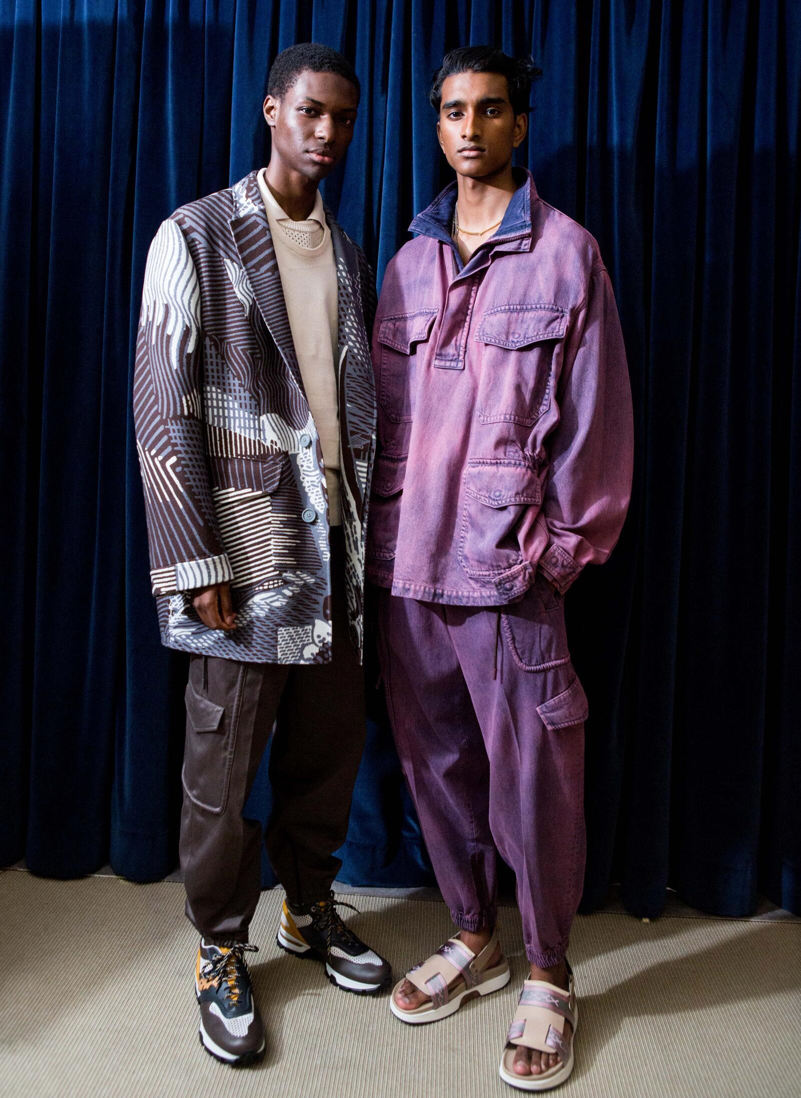 Men Models 2019 Backstage Ermenegildo Zegna Couture