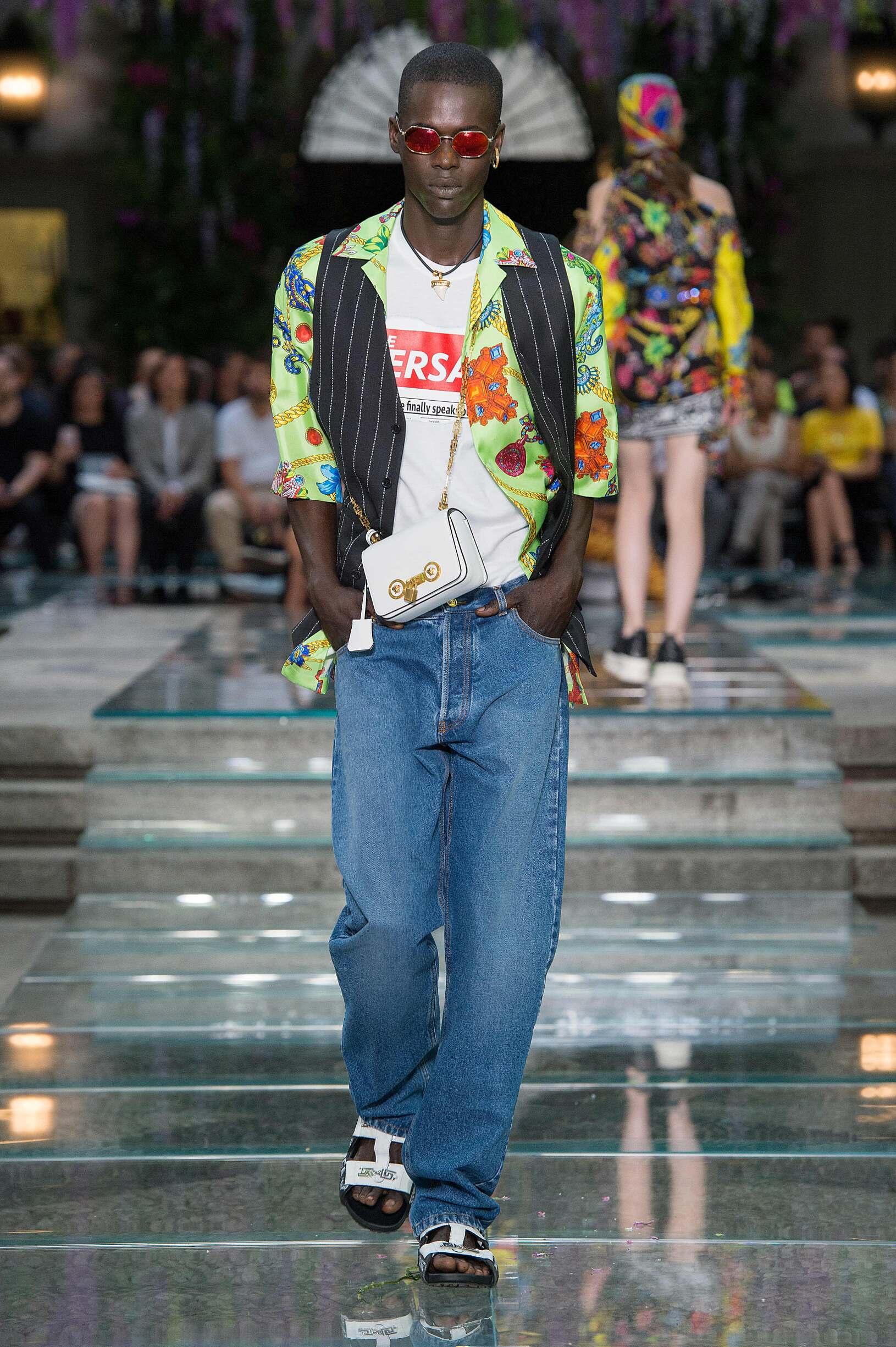 Menswear Summer Versace 2019