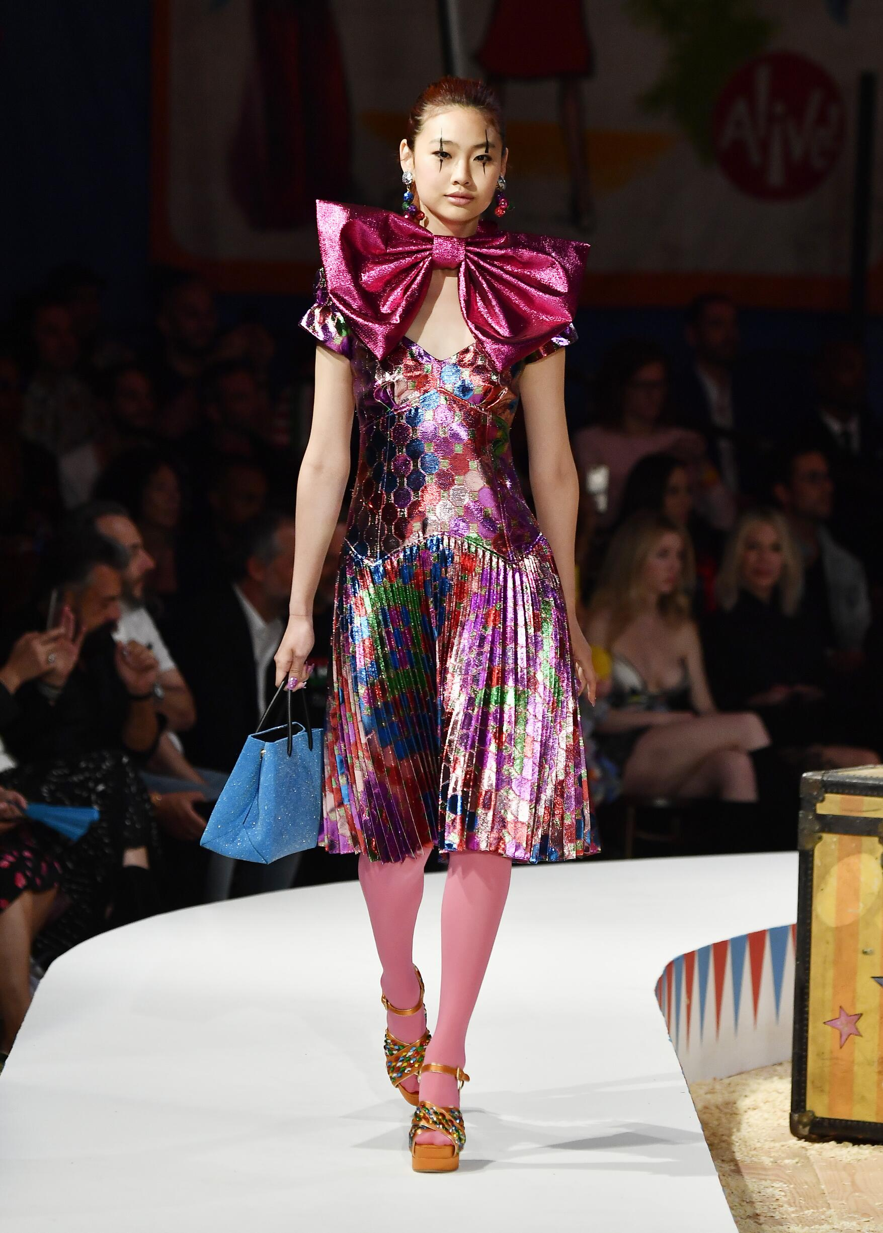 Moschino Spring Summer 2019 Menswear and Women's Resort Collection Look 59 Los Angeles