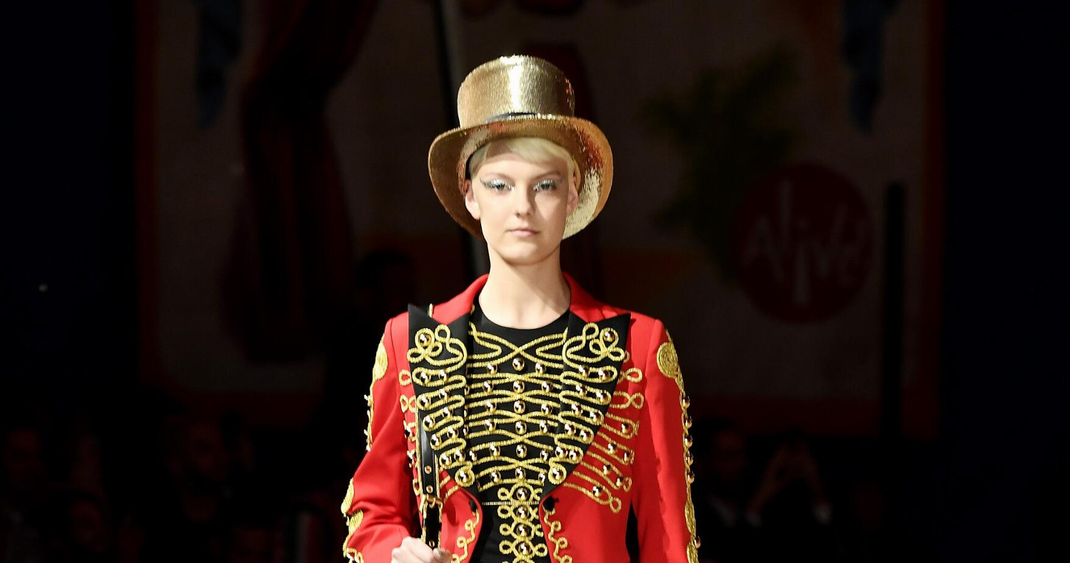 Moschino Spring Summer 2019 Menswear and Women's Resort Collection