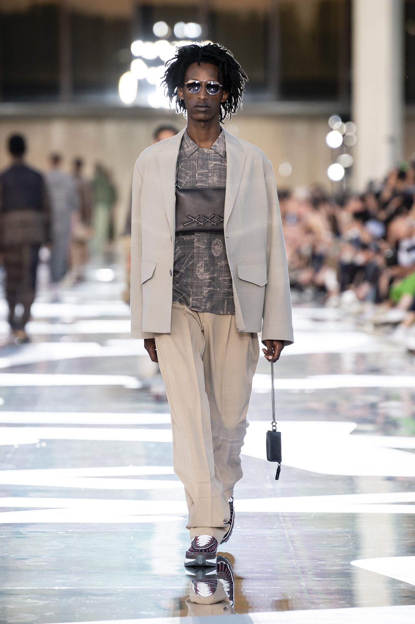 Runway Ermenegildo Zegna Couture Spring Summer 2019 Men's Collection Milan Fashion Week