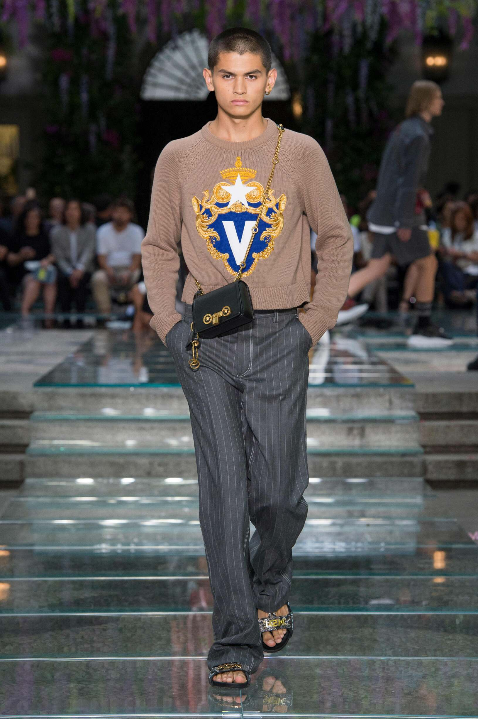VERSACE SPRING SUMMER 2019 MEN'S COLLECTION