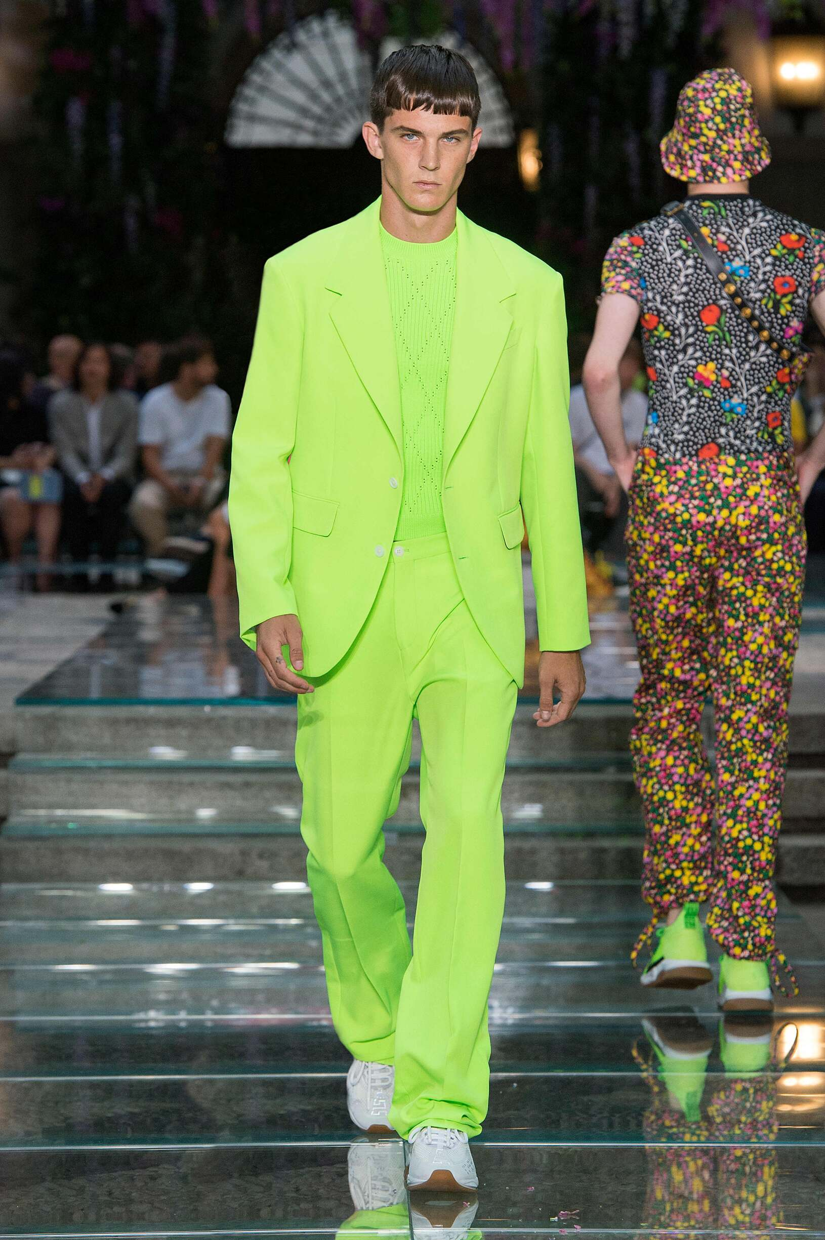 VERSACE SPRING SUMMER 2019 MEN'S COLLECTION | The Skinny Beep