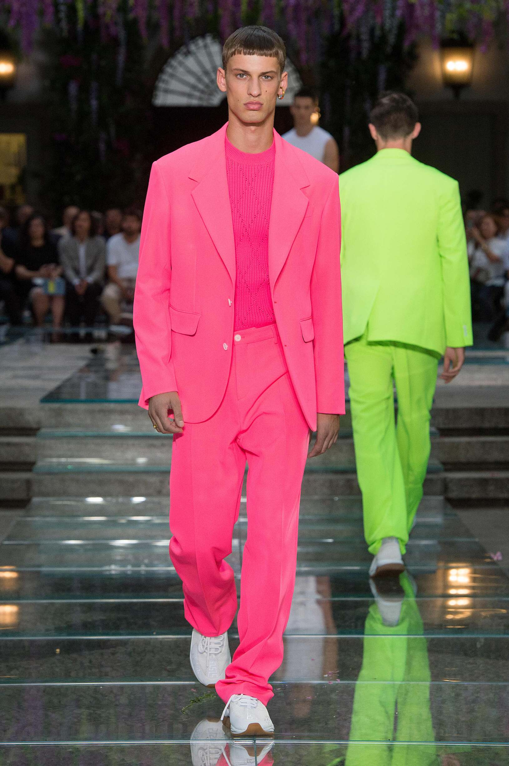 Spring Summer 2019 Man Milan Versace Collection